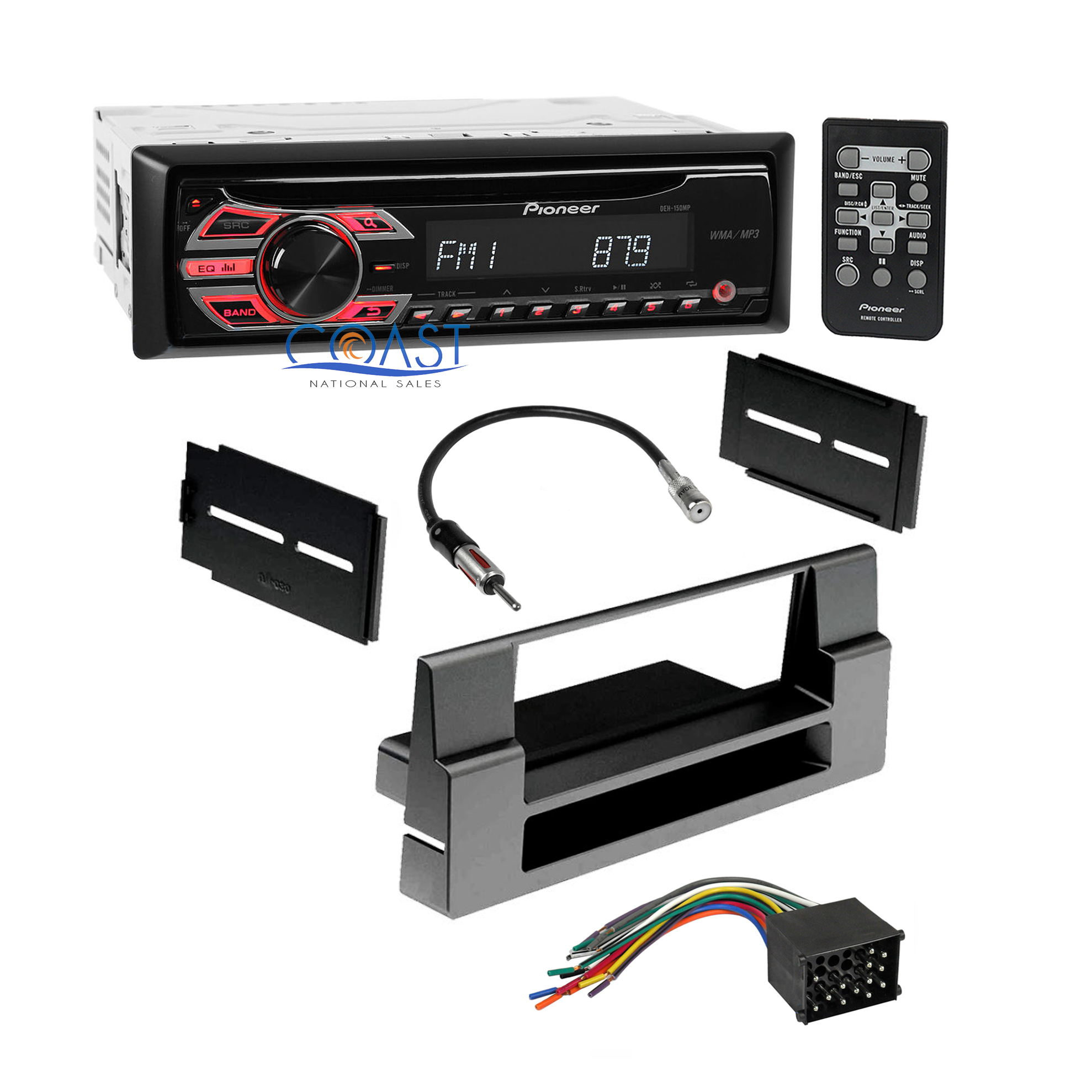 Pioneer Car Cd Mp3 Radio Stereo Dash Kit Wire Harness For 1997 01 Sirius Wiring Bmw 5 Series