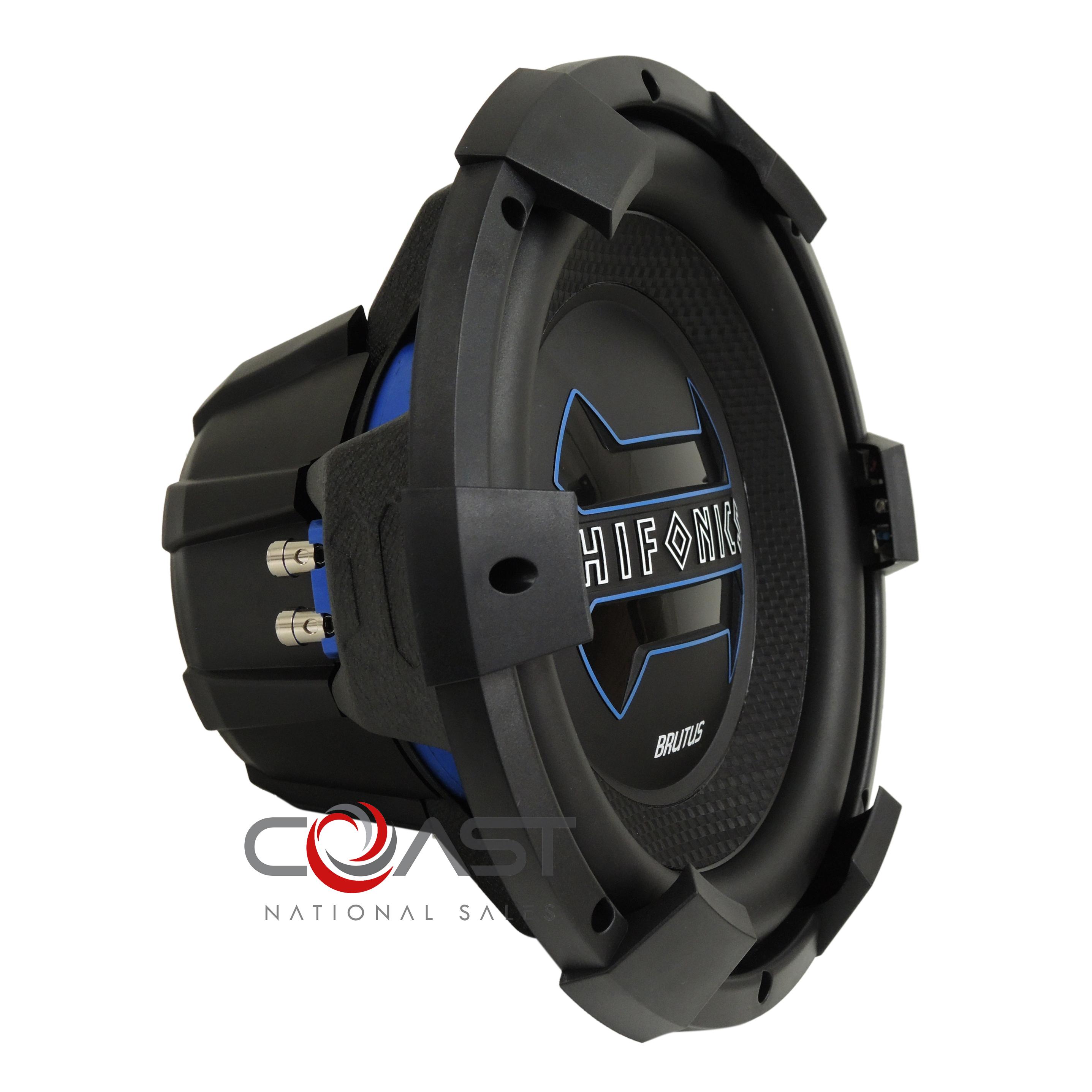 Details about HiFonics Car Audio Single 12