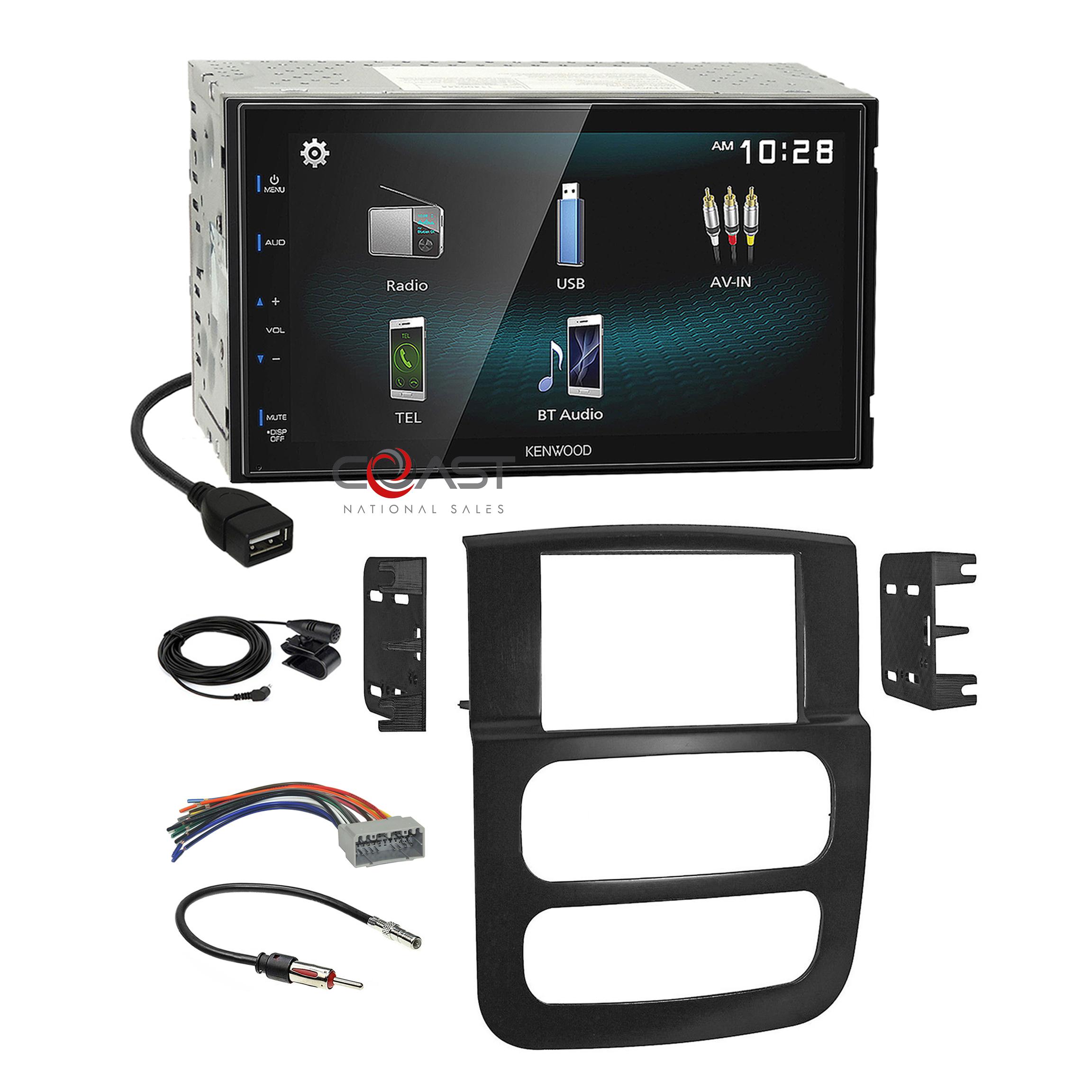 Kenwood Smartphone Android Mirror Stereo Dash Kit Harness for 02-05 Dodge  Ram | eBayeBay