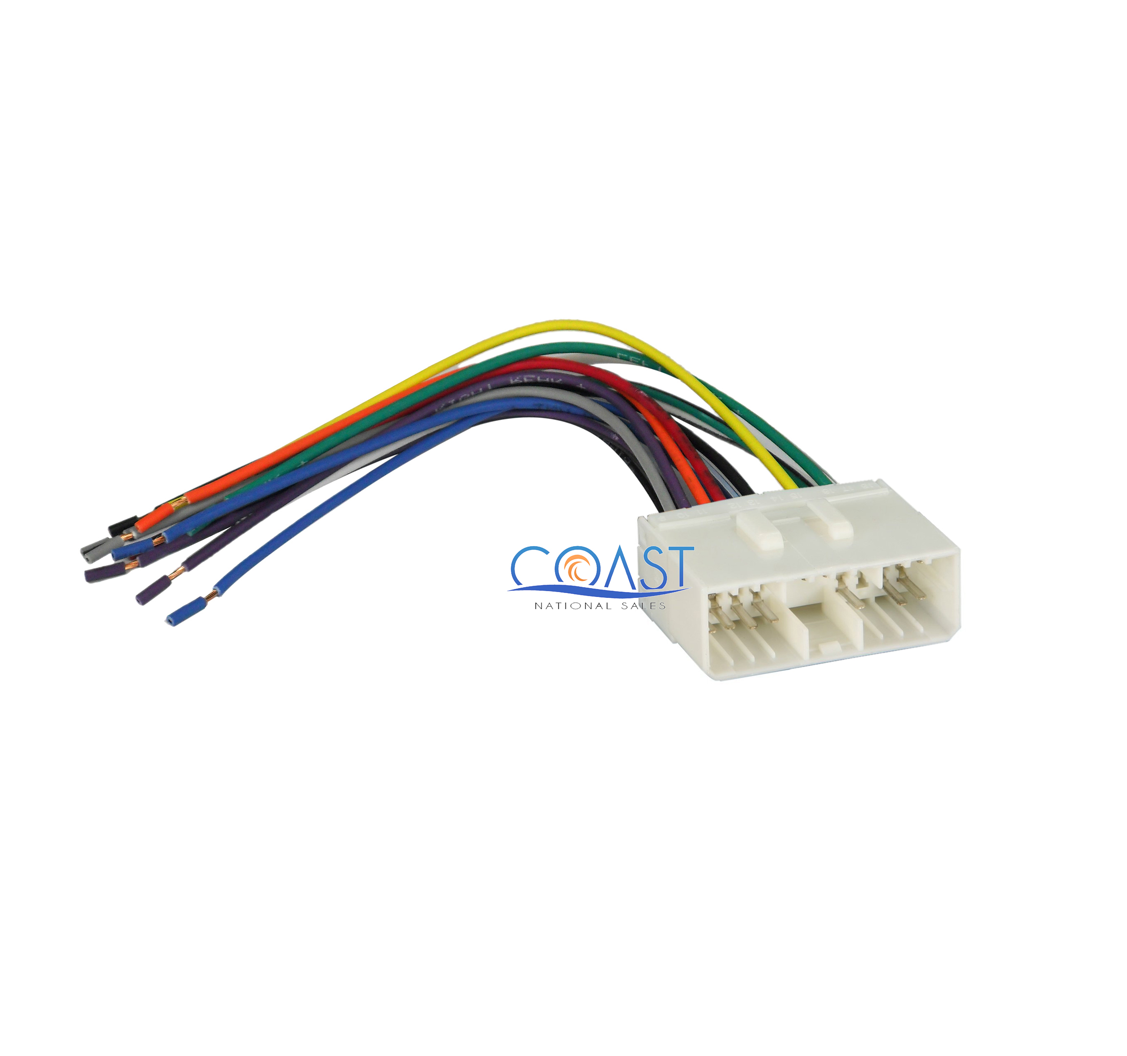 Car Aftermarket Radio Wiring Harness For 1999