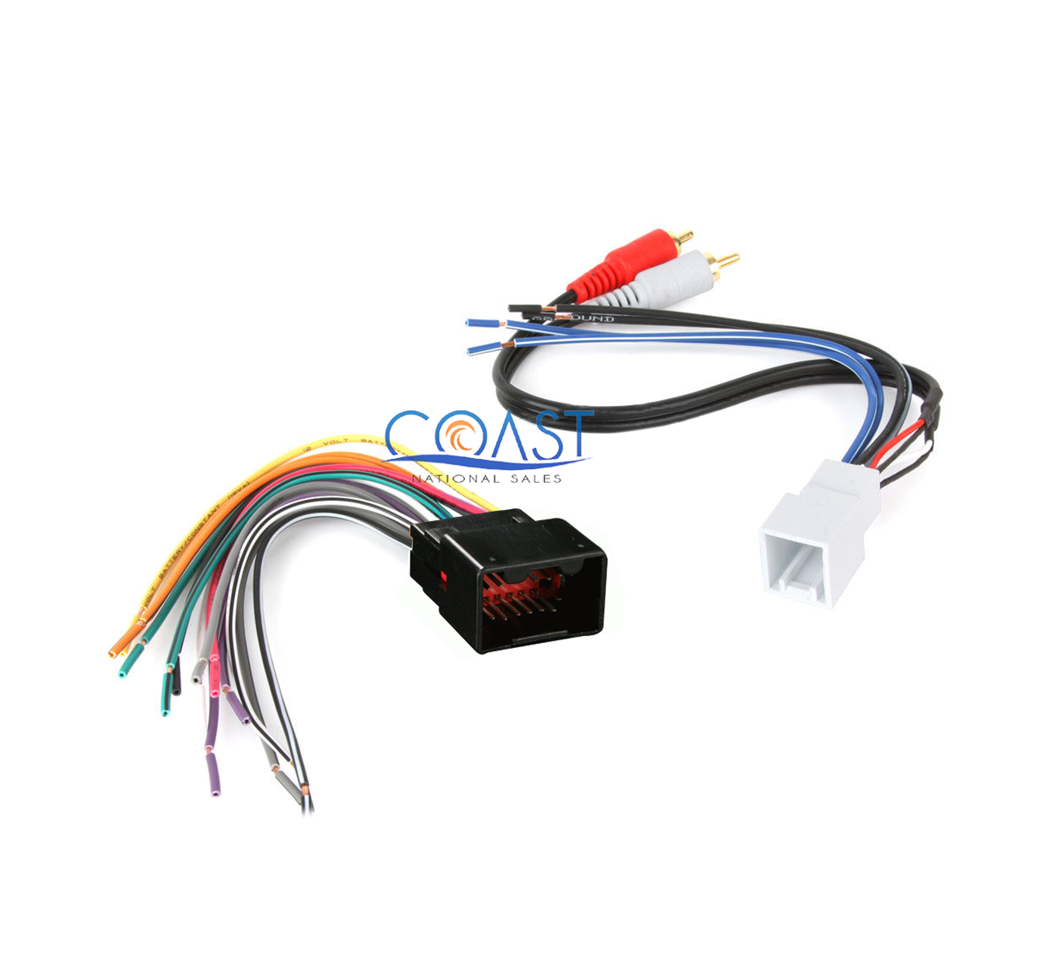 Aftermarket Radio Stereo Wiring Harness Plug For 1998