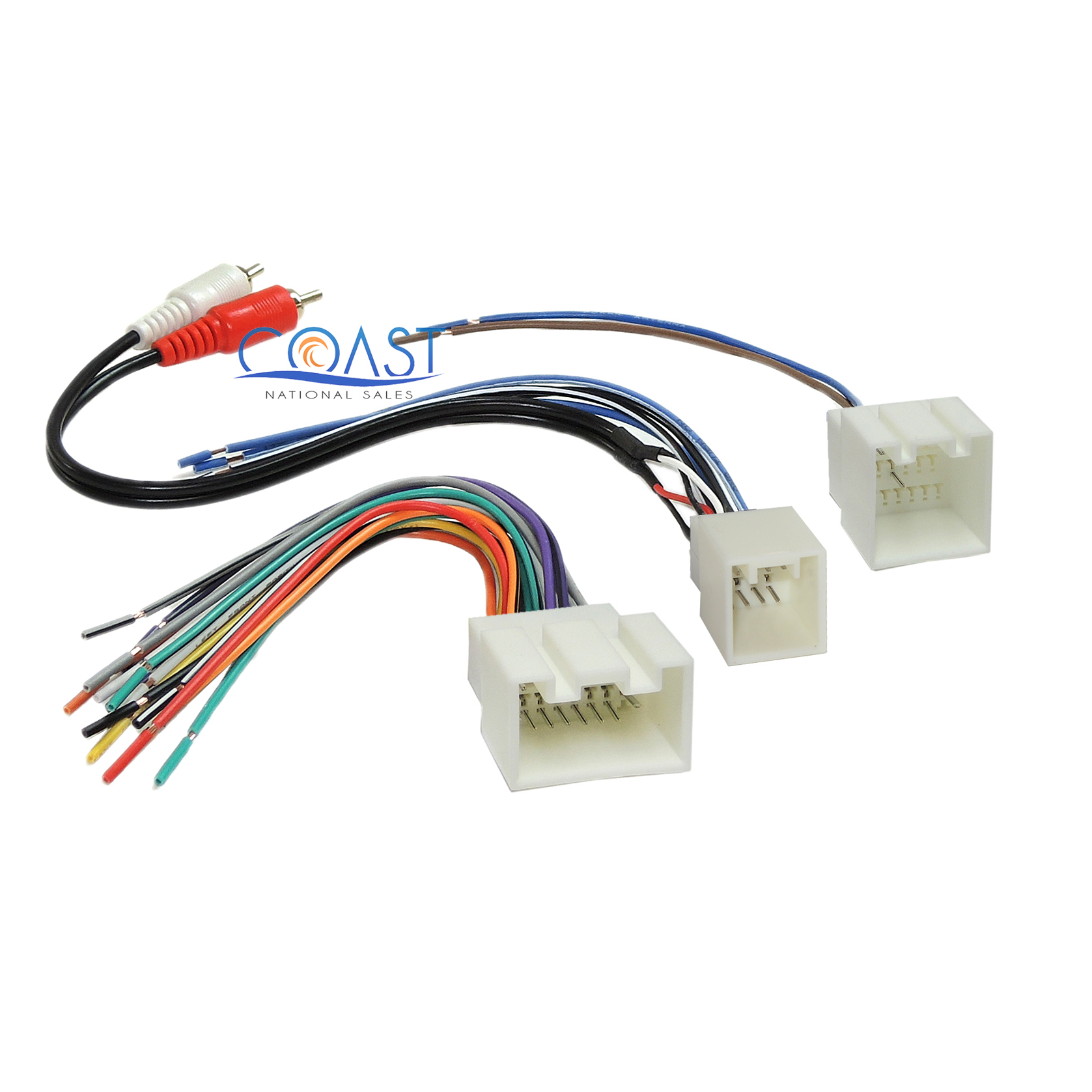 Car Radio Stereo Amp Wiring Harness with RCA for 1998-2005 Ford Lincoln  Mercury | eBay
