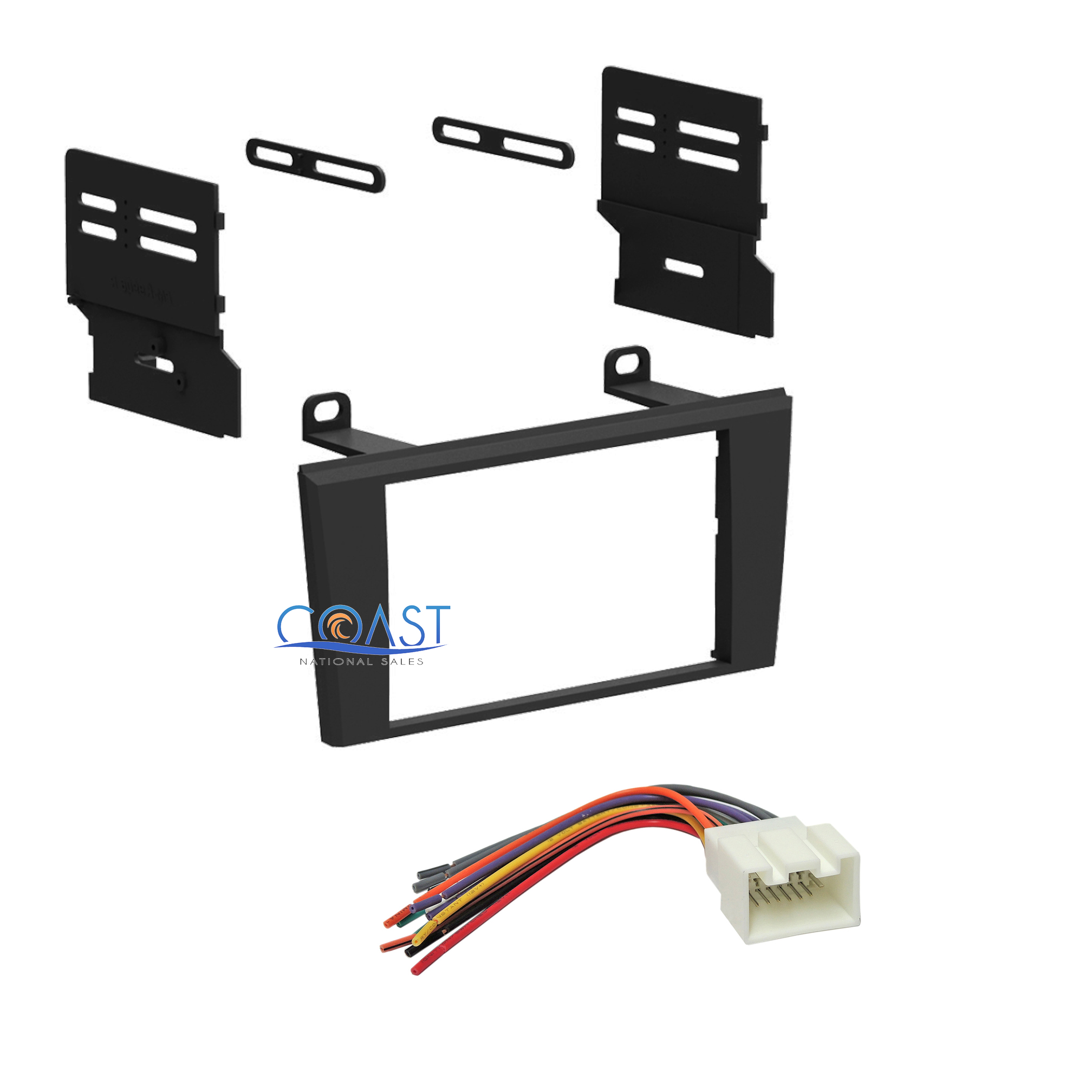 car stereo radio dash kit harness for ford thunderbird
