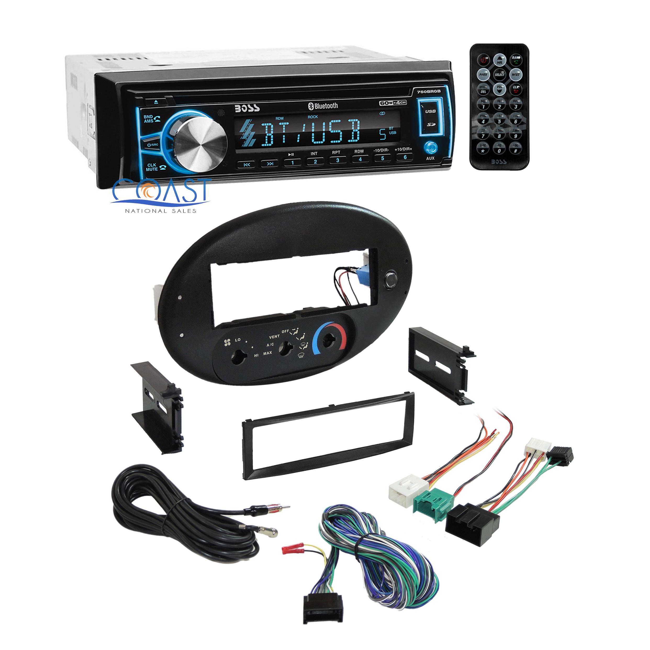 Boss Car Radio Stereo   Dash Kit Harness For 1996