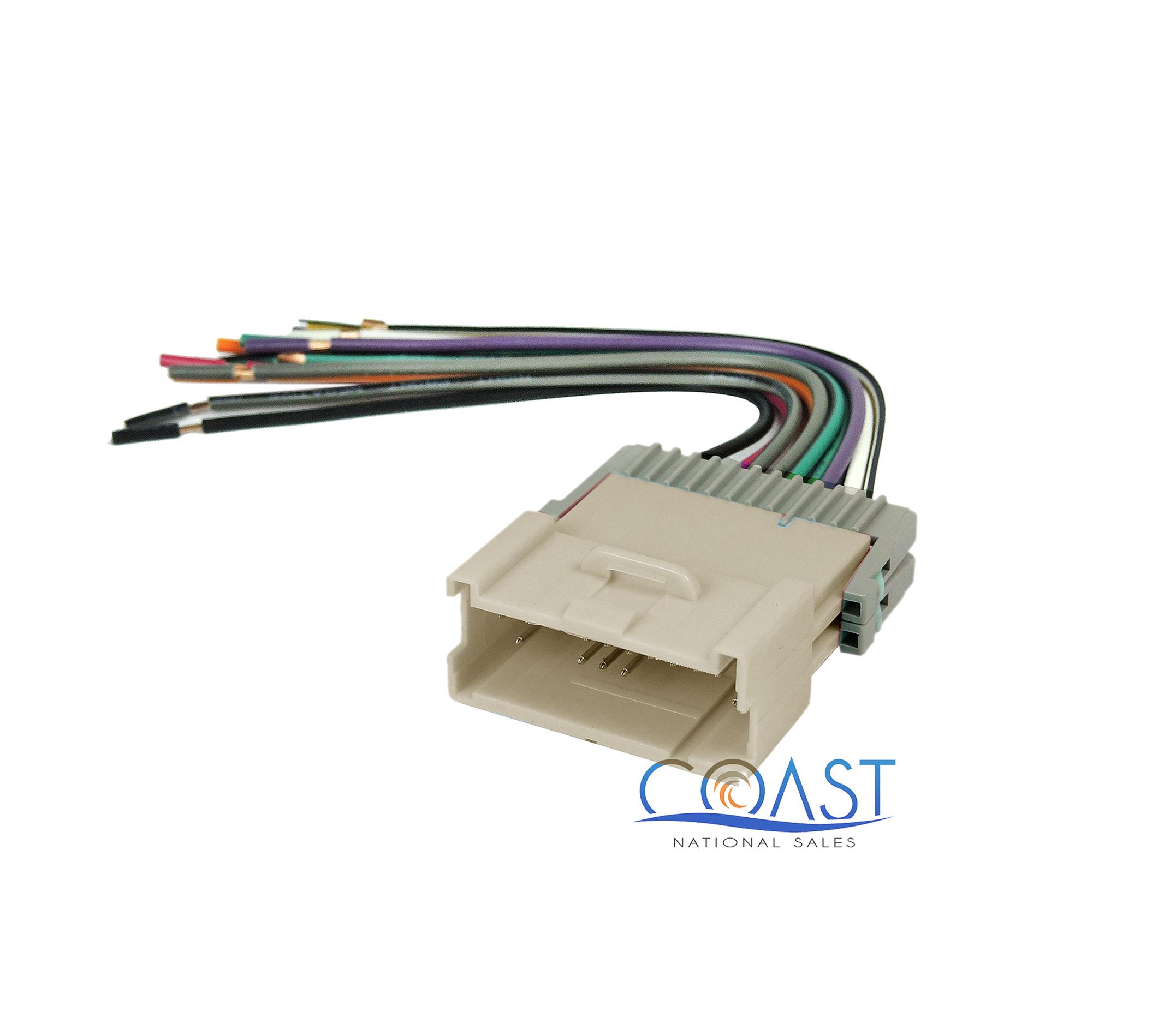 car radio stereo wire wiring harness plug for 2004-2005 saturn ion vue l300  | ebay  ebay