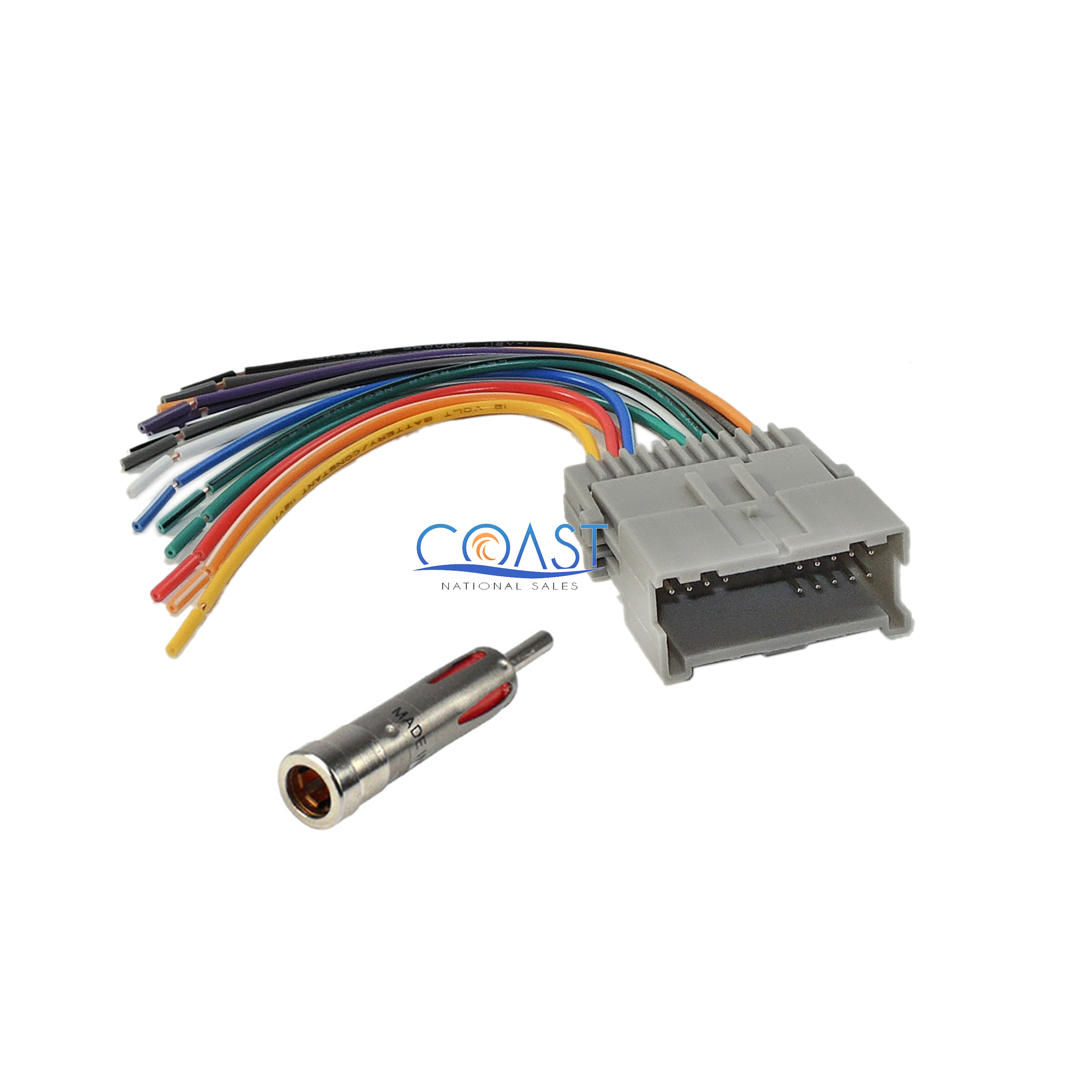 Gm Wiring Harness Adapter Without Light Diagram Data Trailer Plug Radio