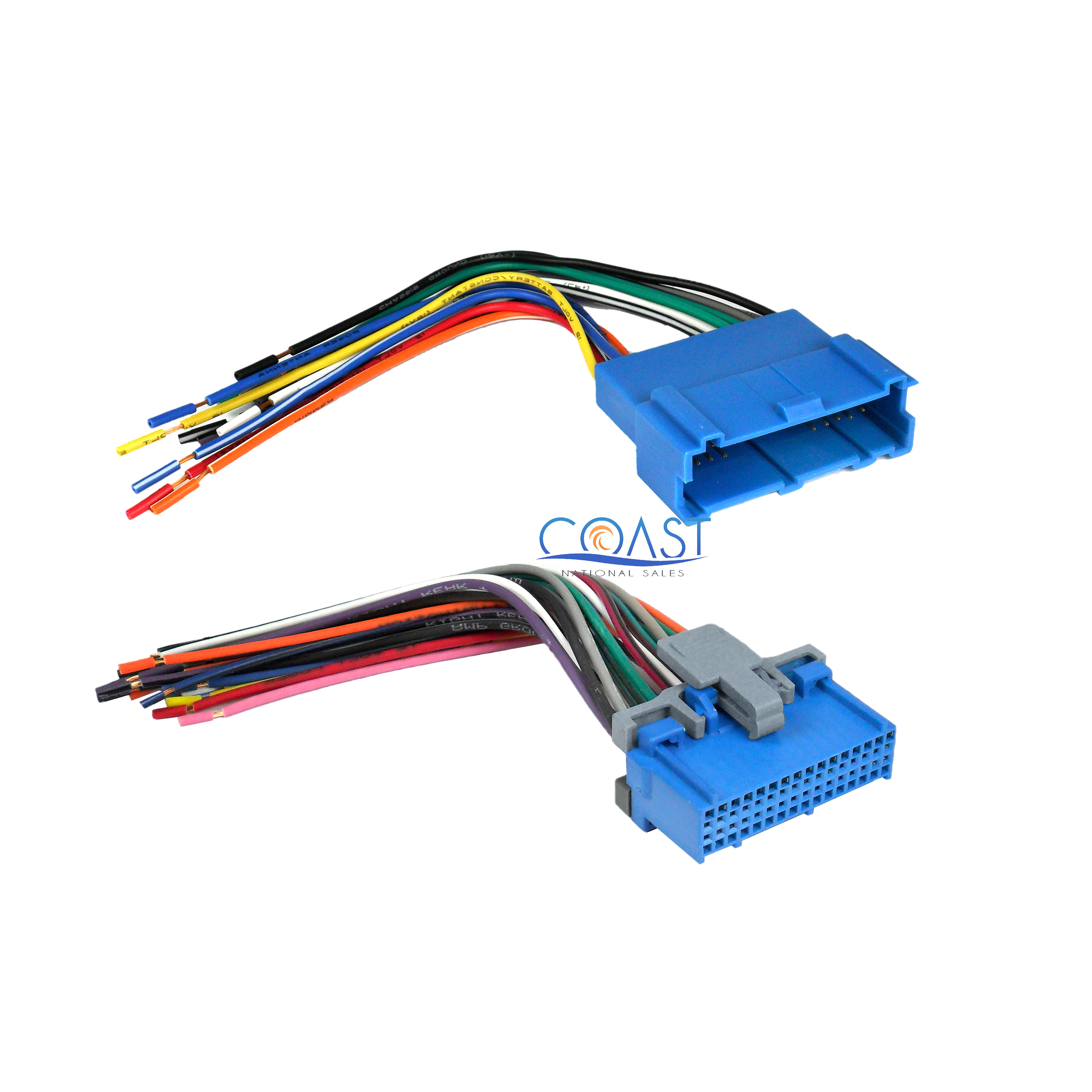 SCOSCHE GM03B Car Stereo Wiring Harness Compatible with Select 1994 to 2005 GM Vehicles