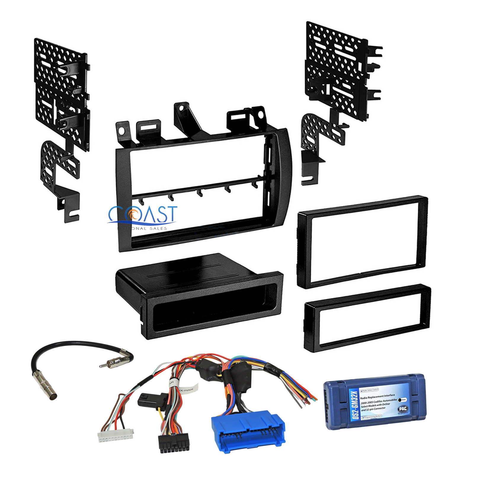Details about Car Radio Stereo Dash Kit Bose OnStar Interface for Cadillac  Deville Eldorado