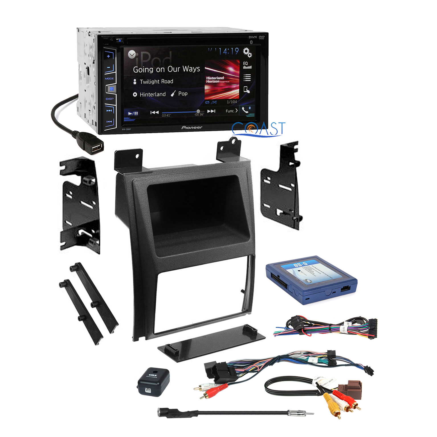pioneer radio stereo dash kit bose wire harness for 2007. Black Bedroom Furniture Sets. Home Design Ideas