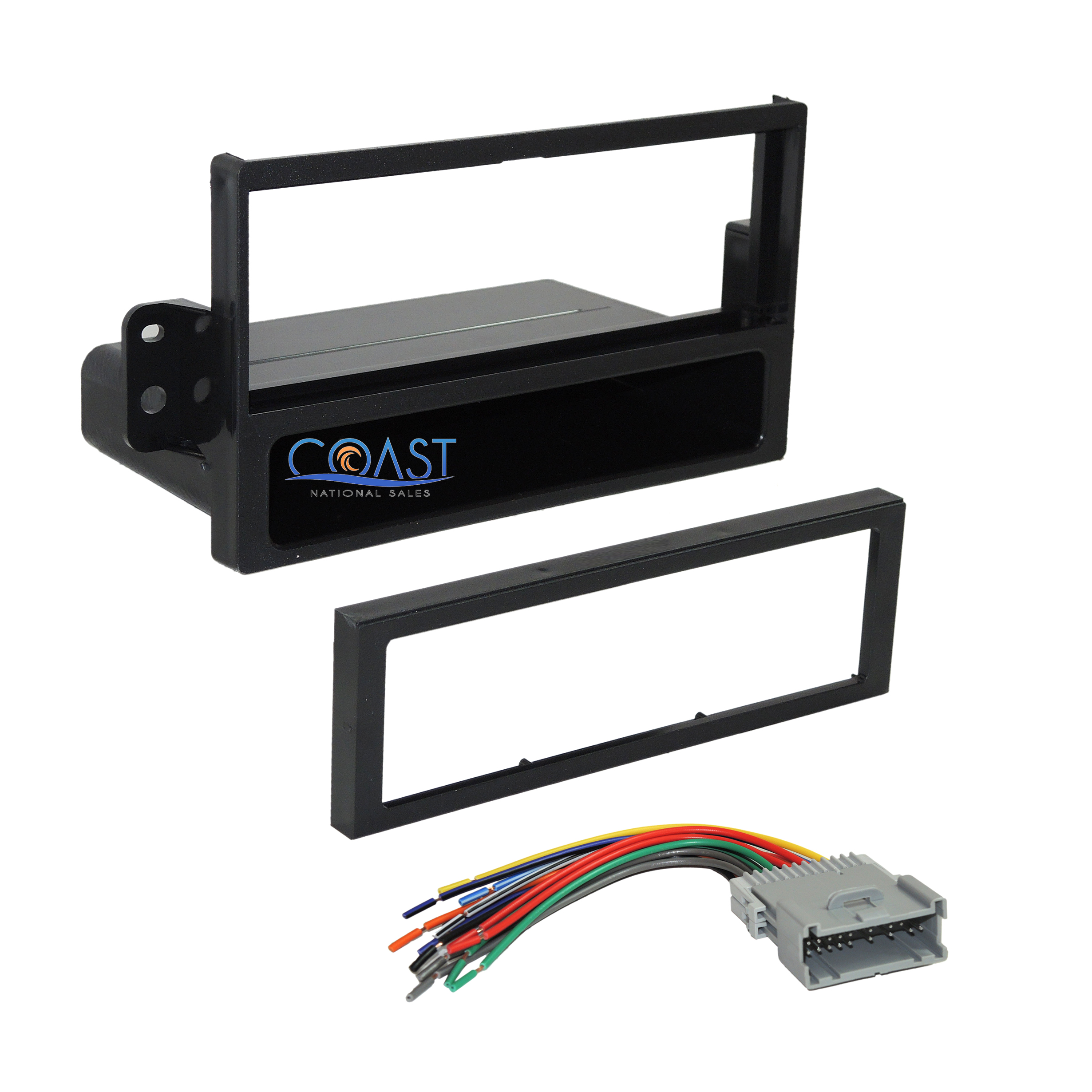 Car Radio Stereo Dash Kit Wire Harness For 2000