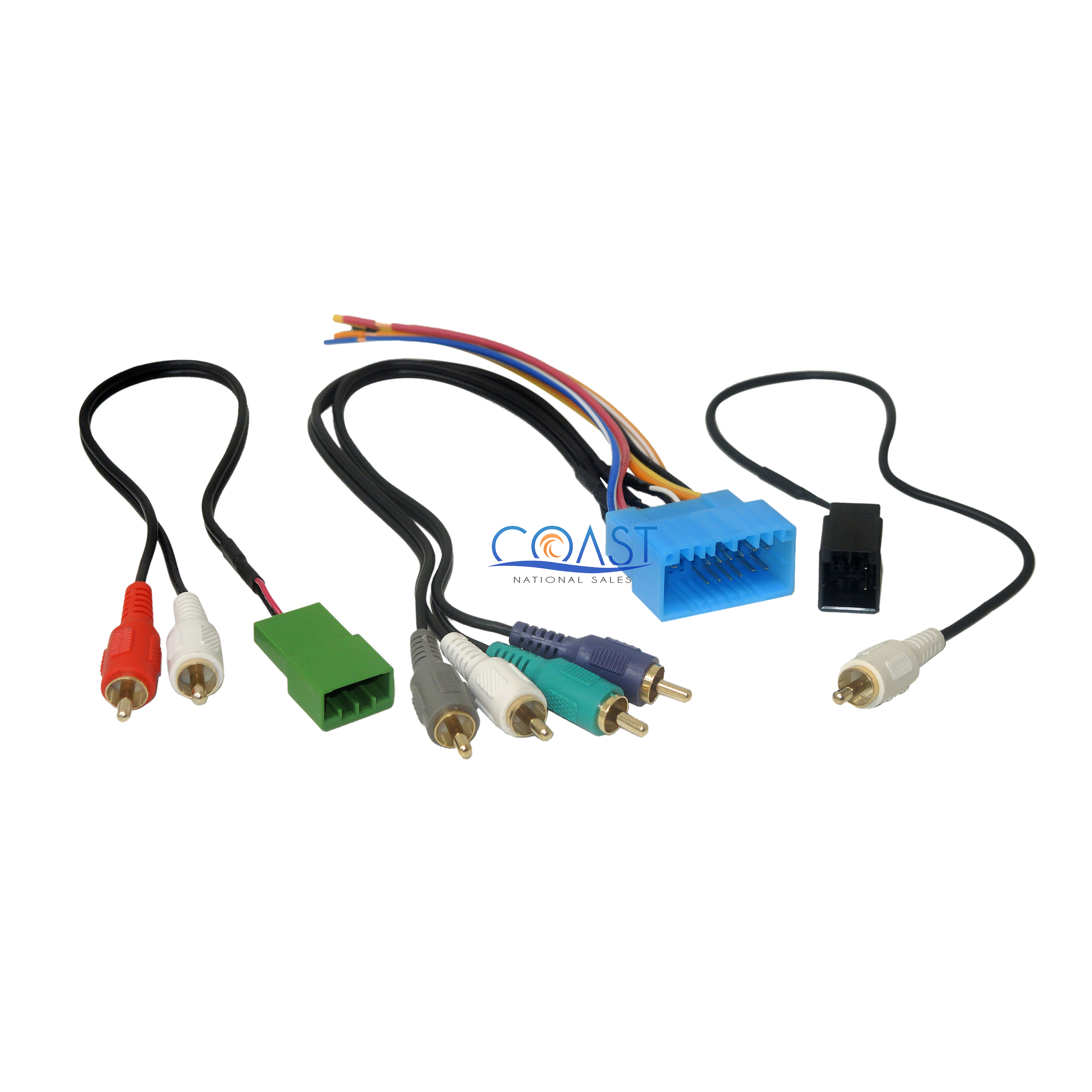 car radio stereo amplified retention wire harness for 2003 2011