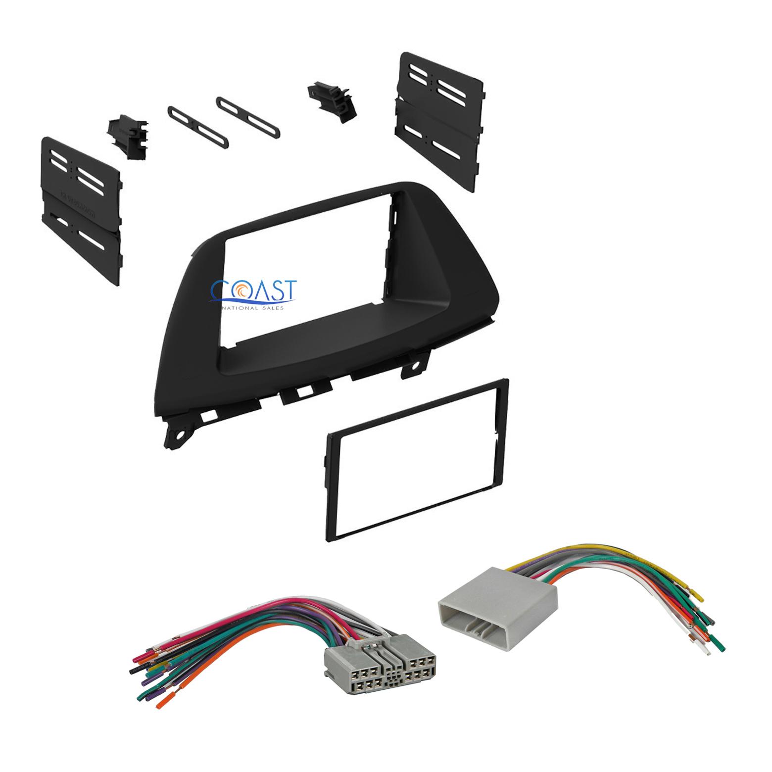 Single Double DIN Car Stereo Dash Kit Harness for 2008-2010 Honda Odyssey