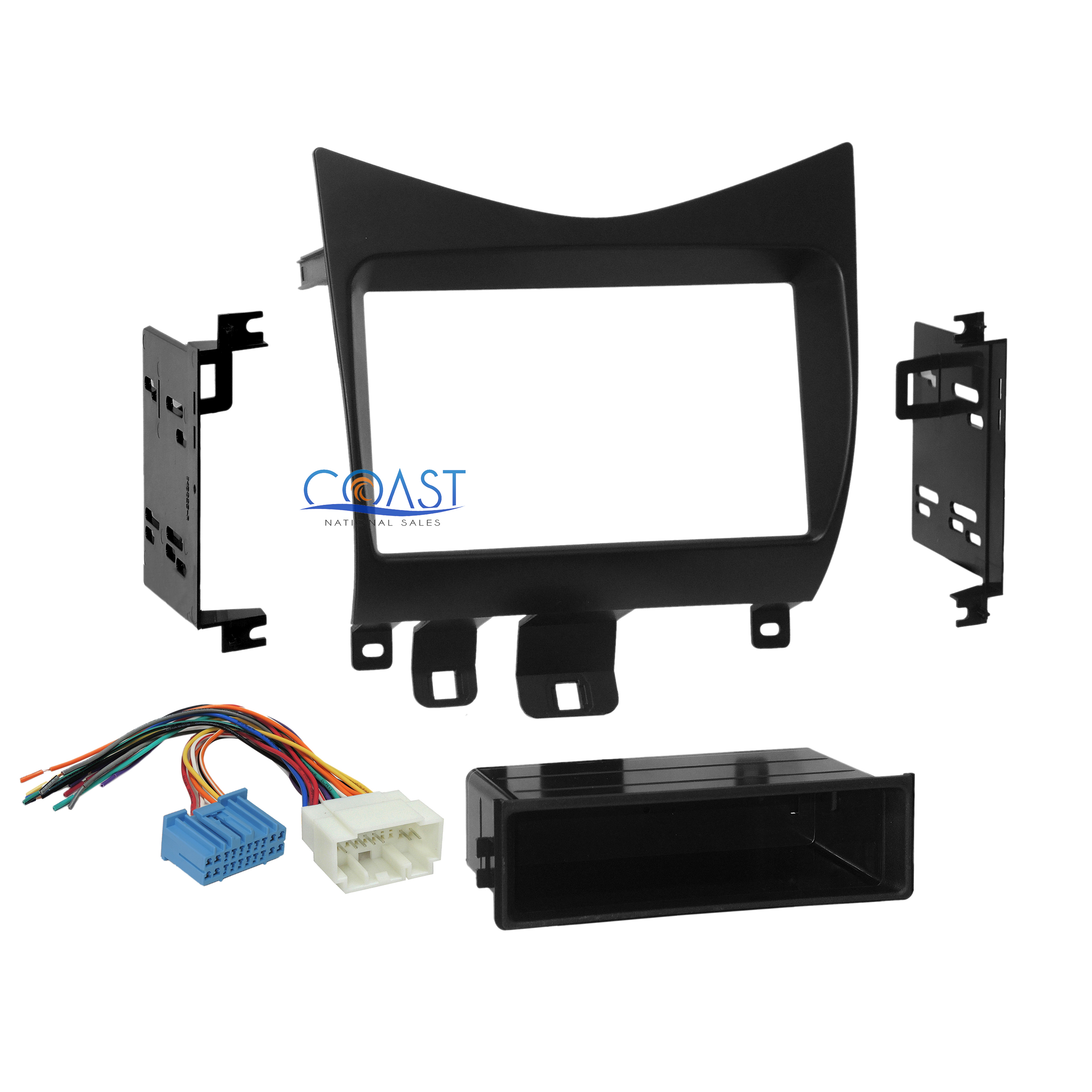 Car Radio Stereo Single Double Din Dash Kit Wire Harness 2003 2007 Fascia Panel Wiring Fitting Honda Accord