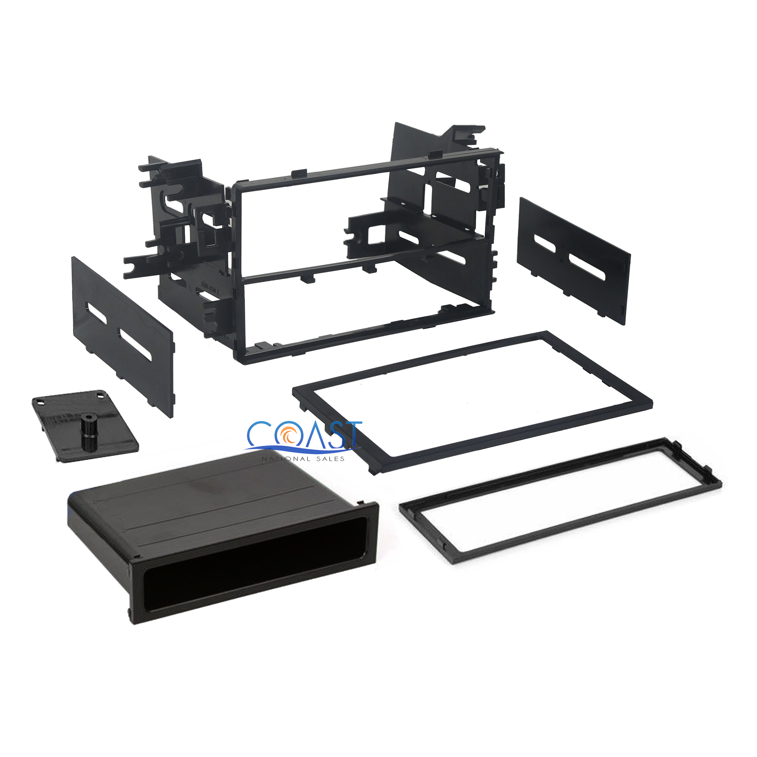 Car Radio Stereo Single Double DIN Dash Kit For Select