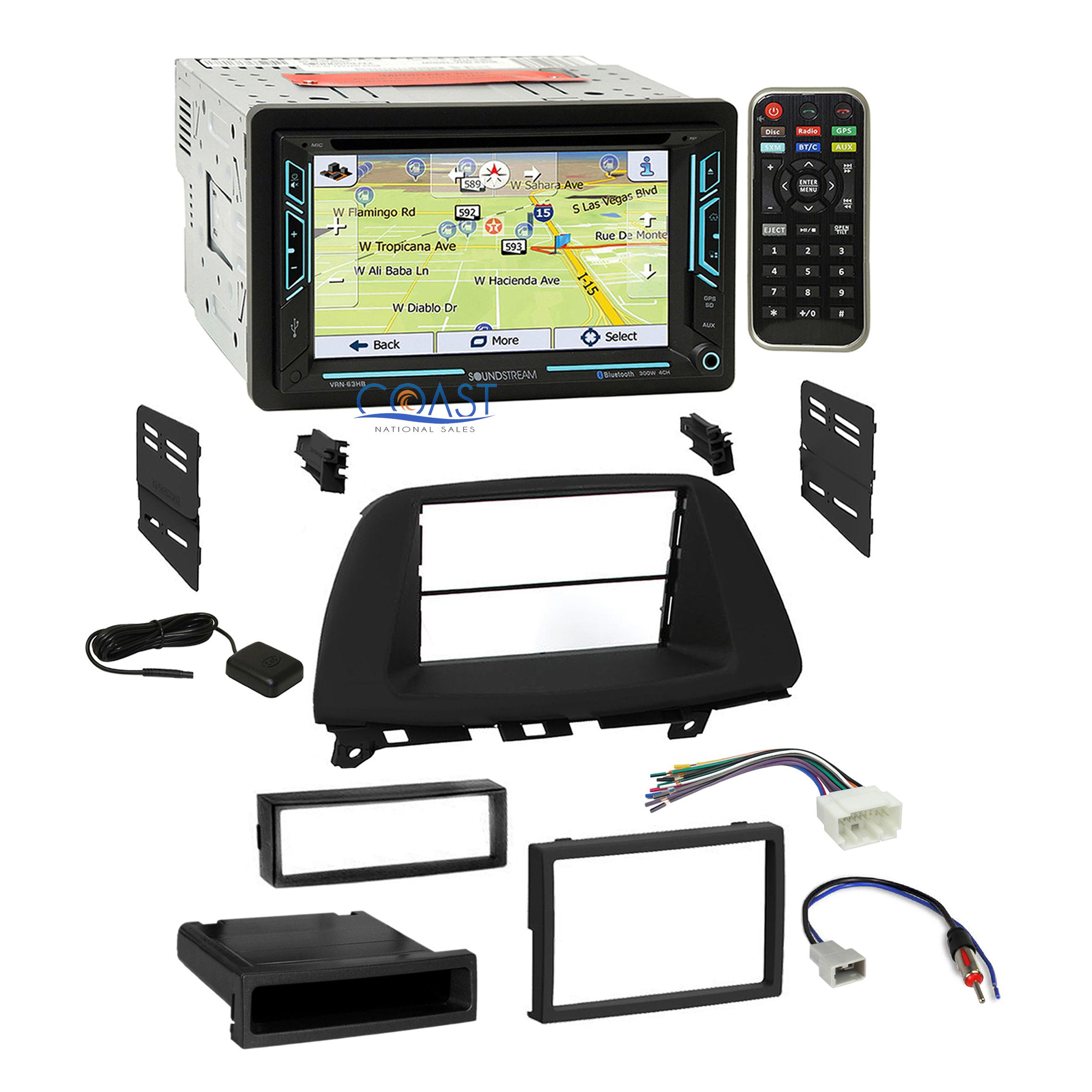 American International Aftermarket ABS Car Stereo Installation Dash Kit HON-K835
