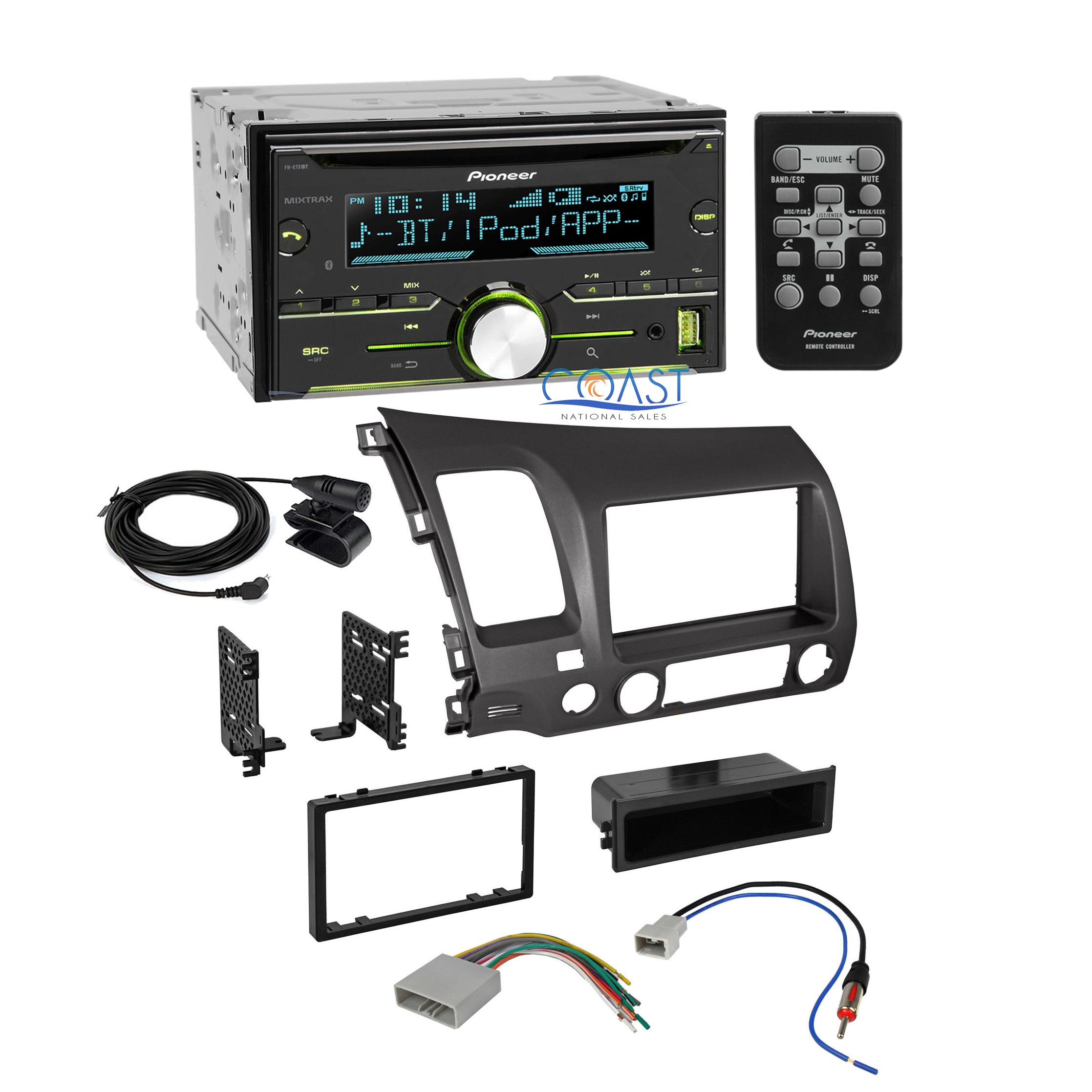 Pioneer Radio Stereo Dash Kit Wire Harness Antenna For 2006 2011 Honda Wiring Civic