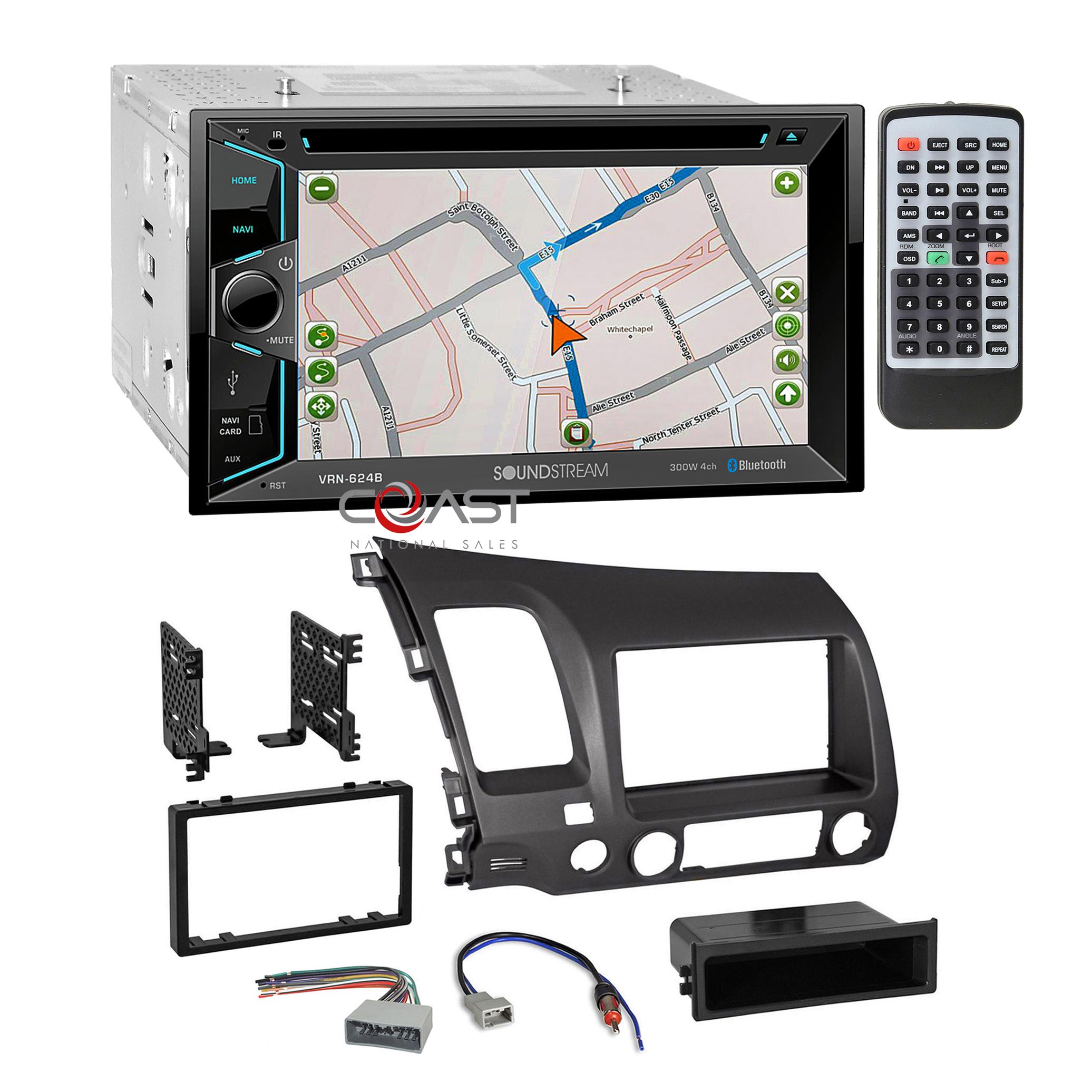 American International HONK838D ISO Radio Installation Kit For 2006-11 Honda NEW