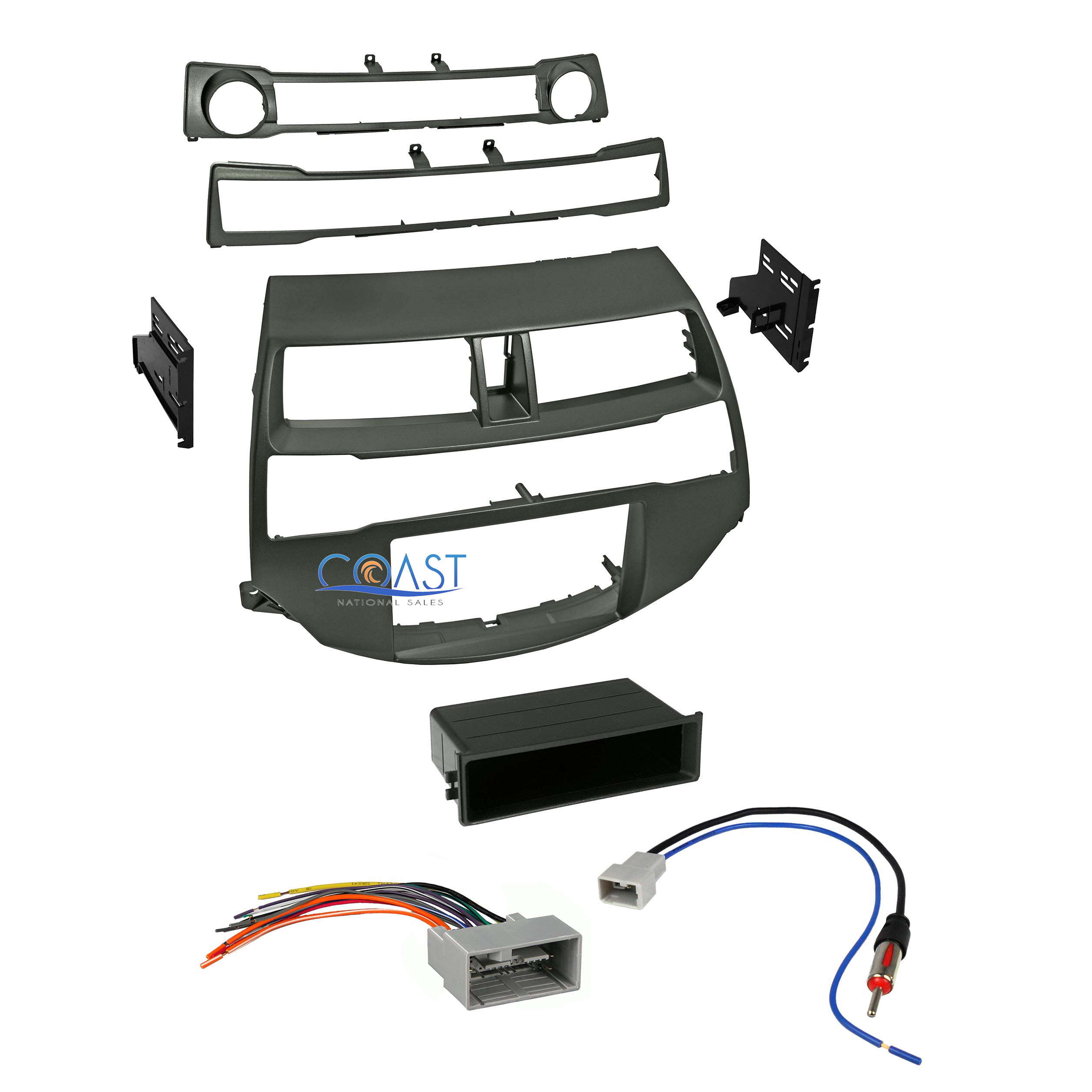 Car Radio Stereo Install Dash Kit Harness Antenna For 2008 2012 Honda Accord Fog Light Switch Diagram