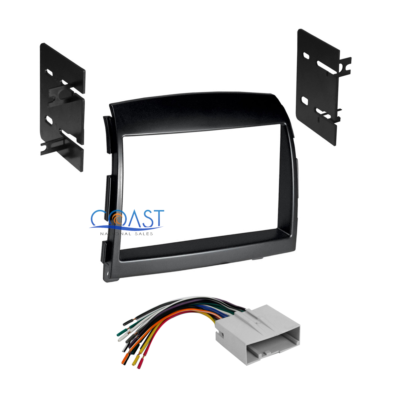 car radio stereo double din dash kit wire harness for 2006 2008 2010 Honda Civic Wiring Harness car radio stereo double din dash kit wire harness for 2006 2008 hyundai sonata
