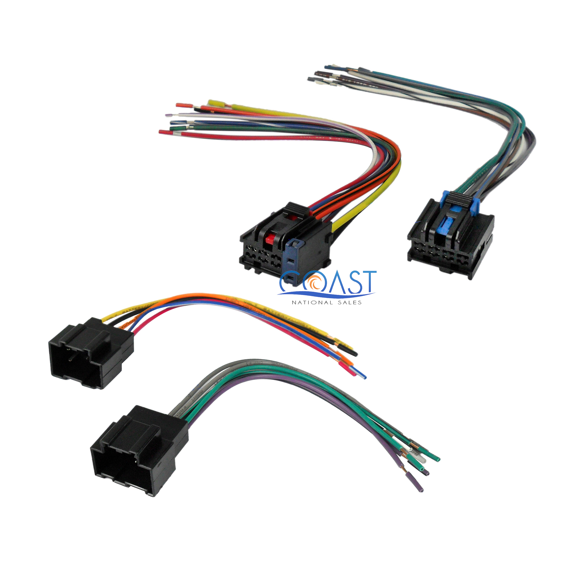 Car Radio Stereo Replacement Wire Harness Combo For 2007