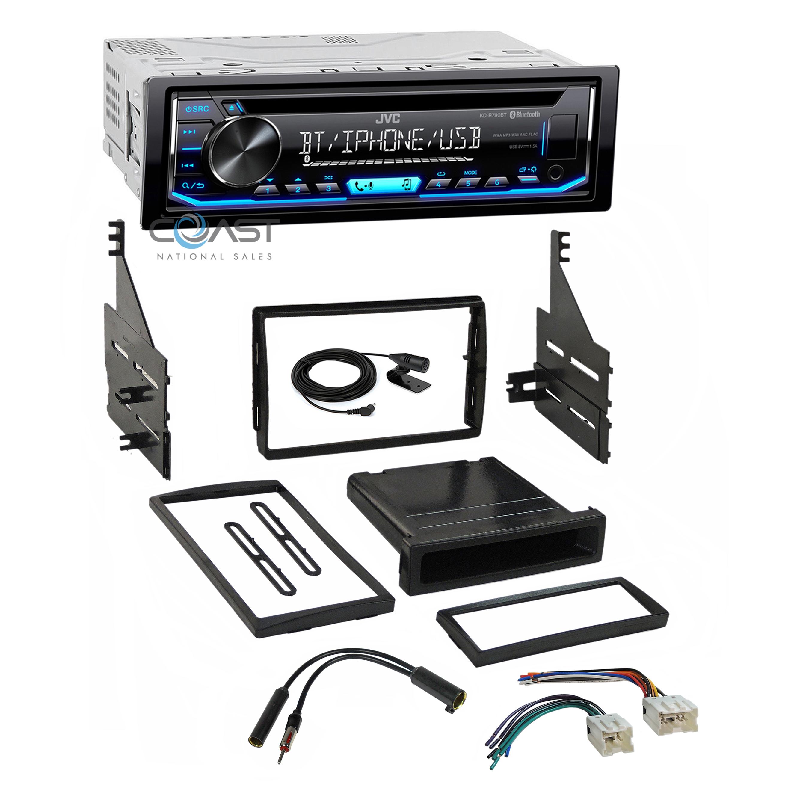 SCOSCHE NN1660B 2005-06 Nissan Altima Double DIN Install Dash Kit