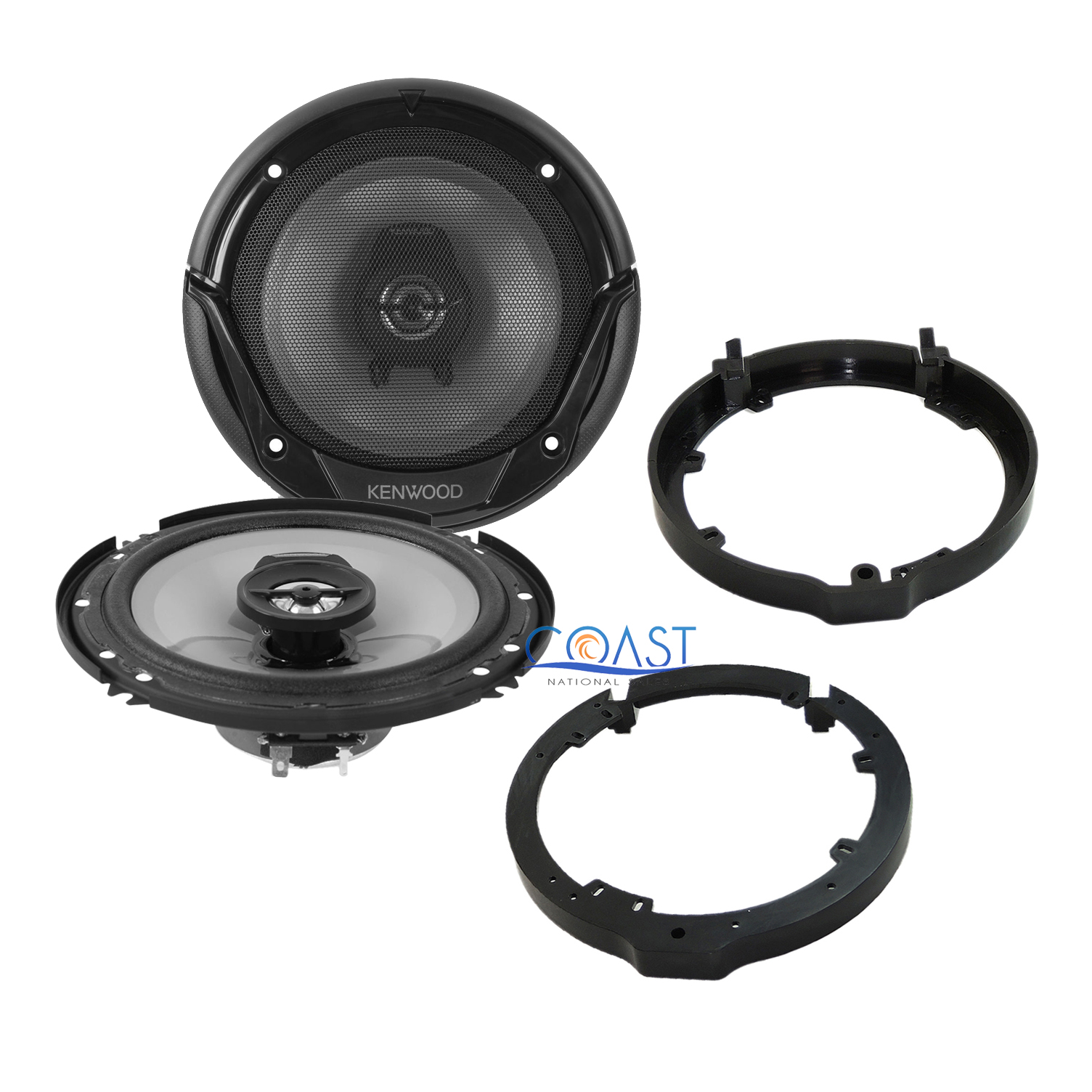SCOSCHE SAHC634 2006-Up Honda Civic Speaker Adapter Pair for 6.5 or 6 3//4 Speakers