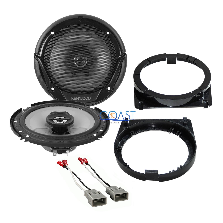 """Kenwood 6.5/"""" Car Stereo Speaker /& Speaker Adapter Wire Harness for Honda Acura"""