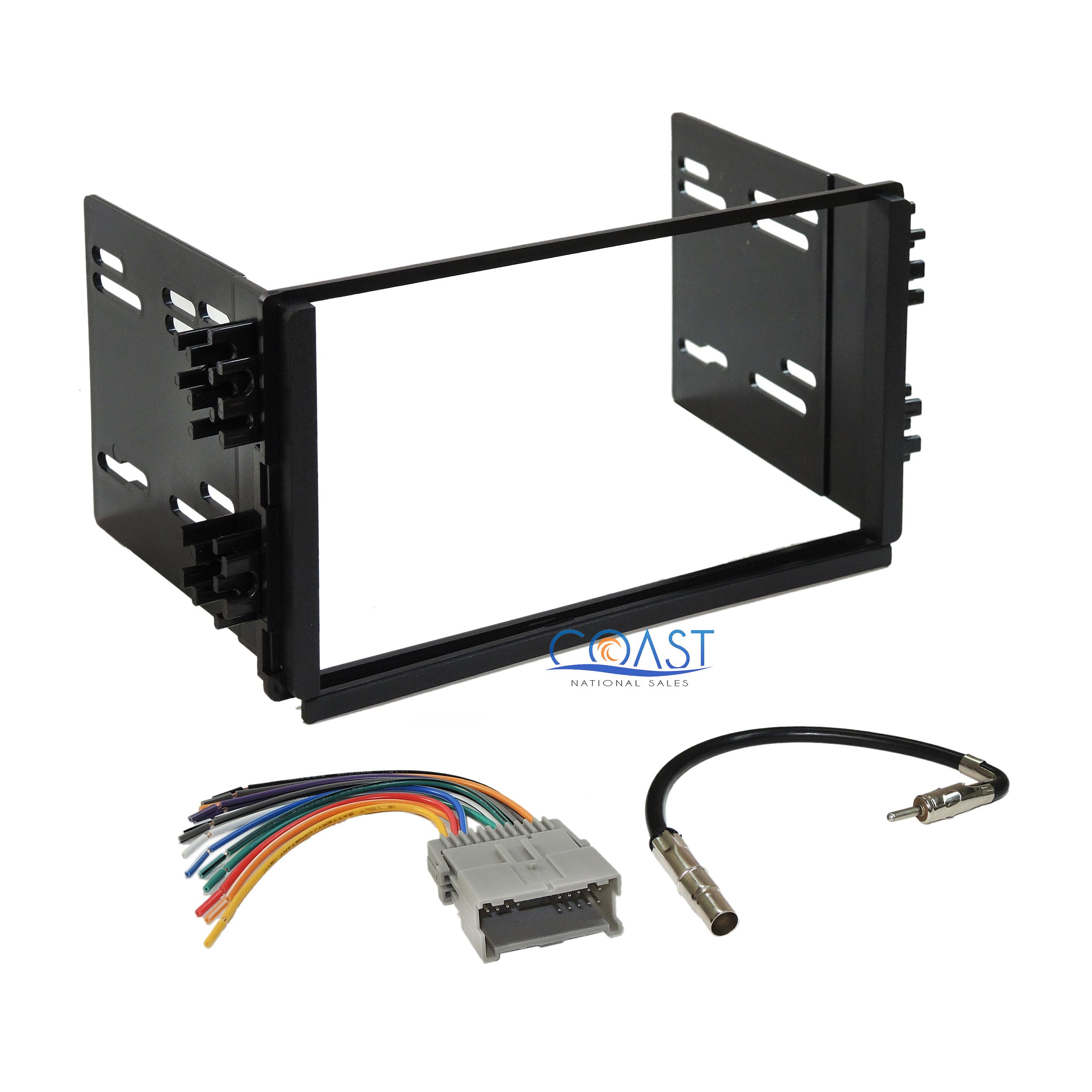 car stereo radio dash kit wiring harness antenna for 2003-2006 kia sorento  lx | ebay  ebay