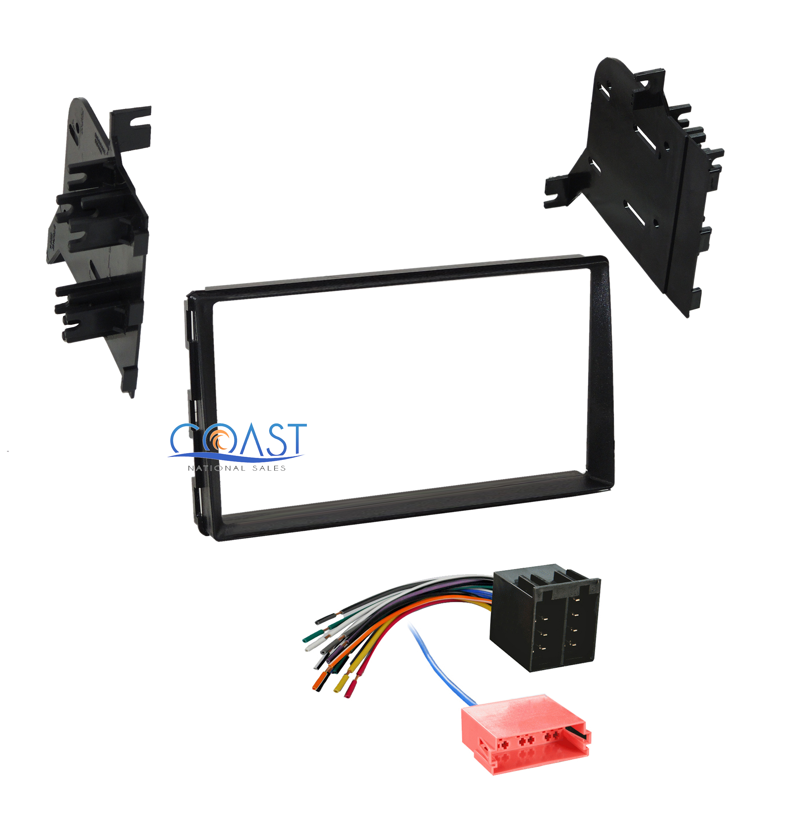 car radio stereo double din dash kit wiring harness for. Black Bedroom Furniture Sets. Home Design Ideas