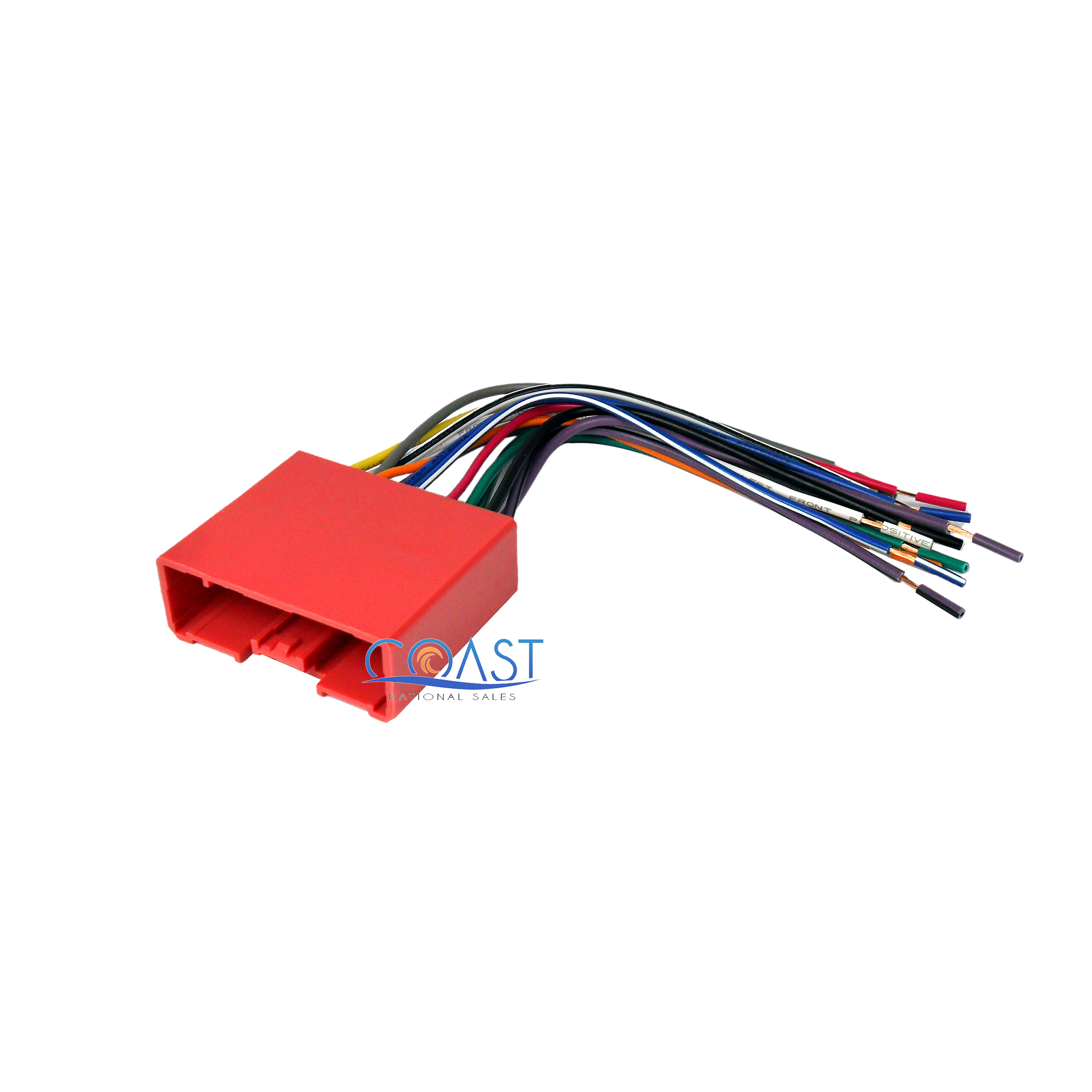 Details about Car Stereo Radio Wiring Harness Plugs into Factory Harness on