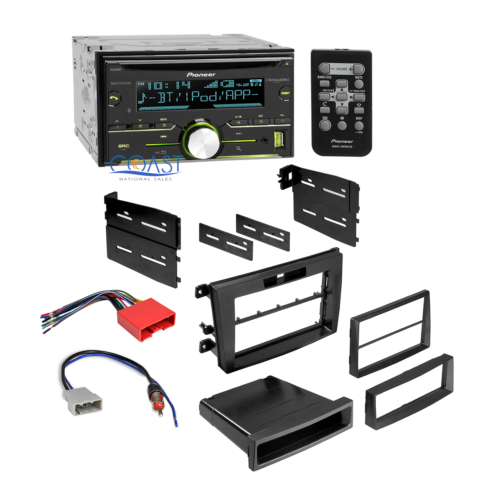 Details about Pioneer Car Sirius Xm Radio Stereo Dash Kit Wire Harness on