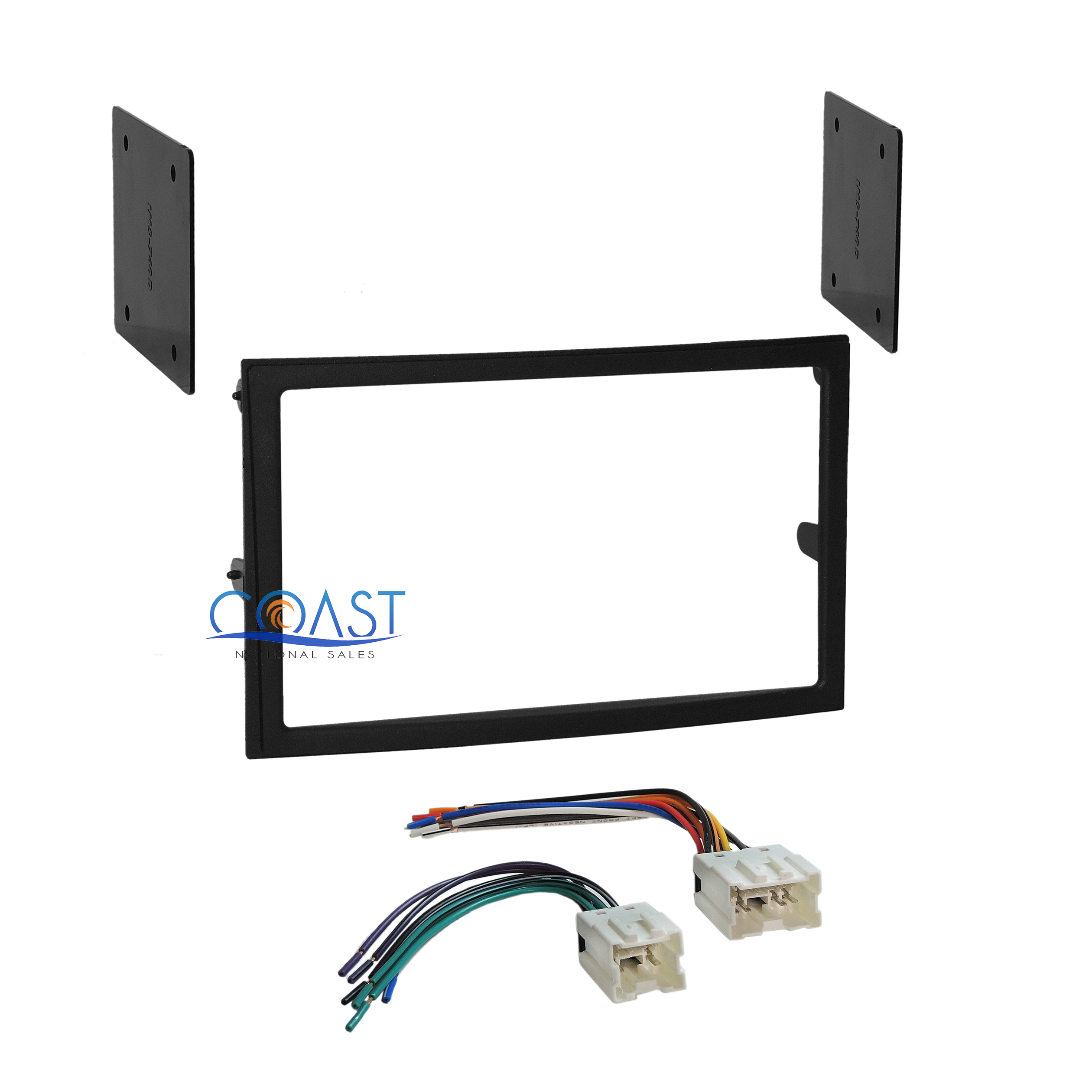 car radio stereo double din dash kit wire harness for 2003 2005