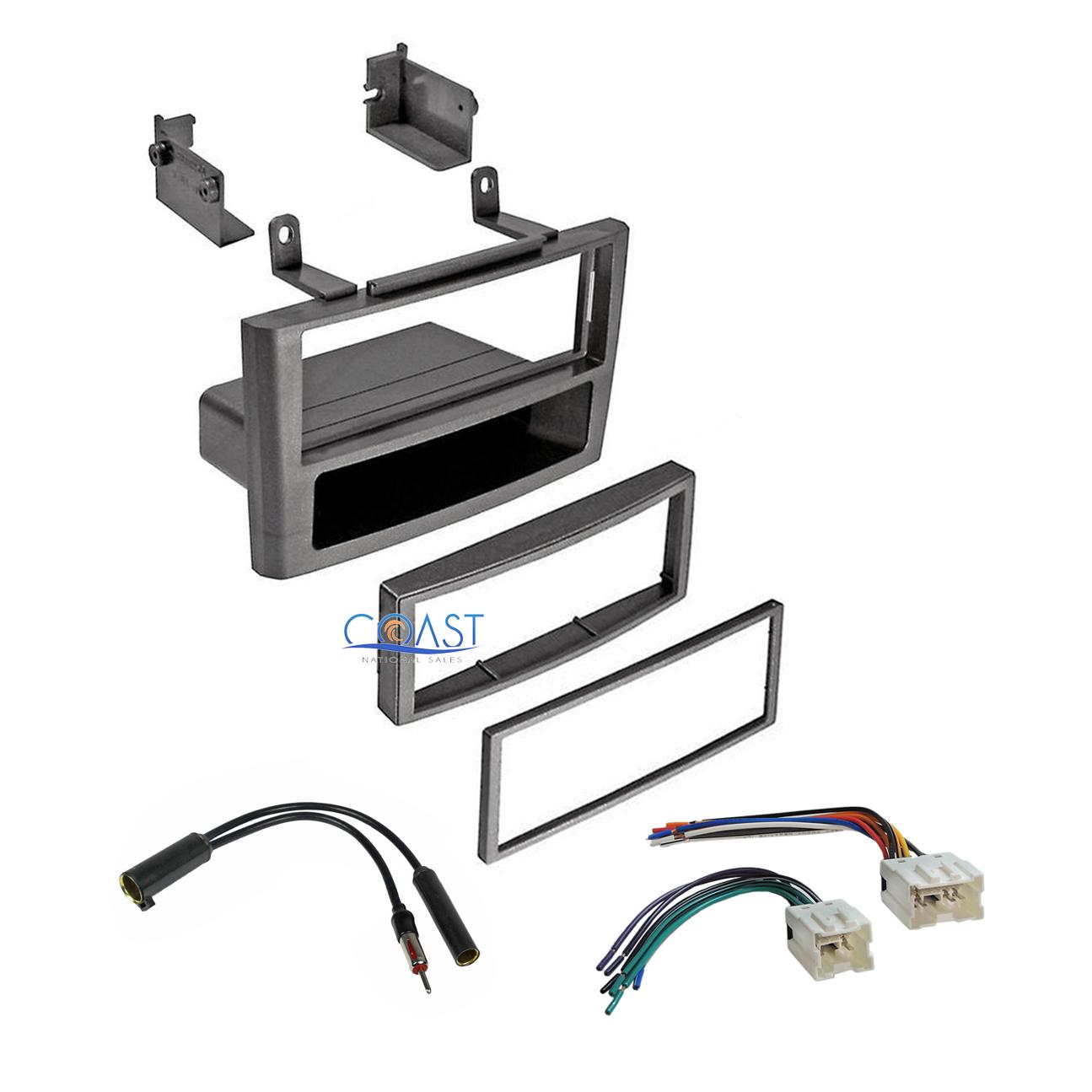 2000 nissan maxima antenna wiring car stereo grey dash kit wire harness antenna for 2000 2003 nissan  car stereo grey dash kit wire harness