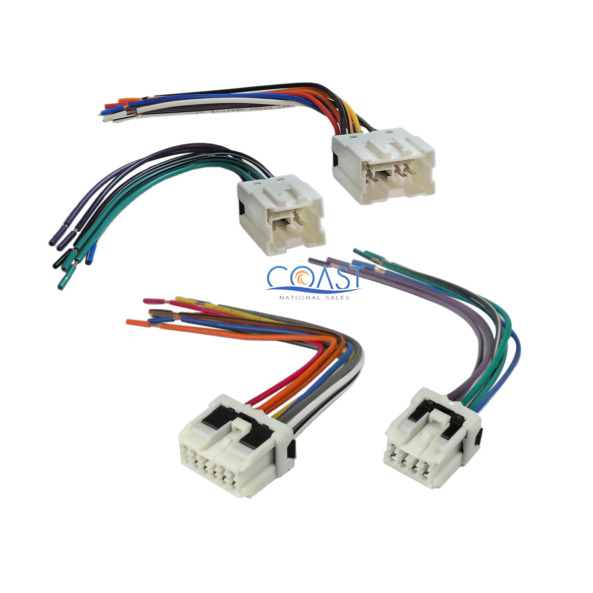 Metra 70-7550 Radio Install Wiring Harness for 1995-up Nissan Infiniti Vehicles