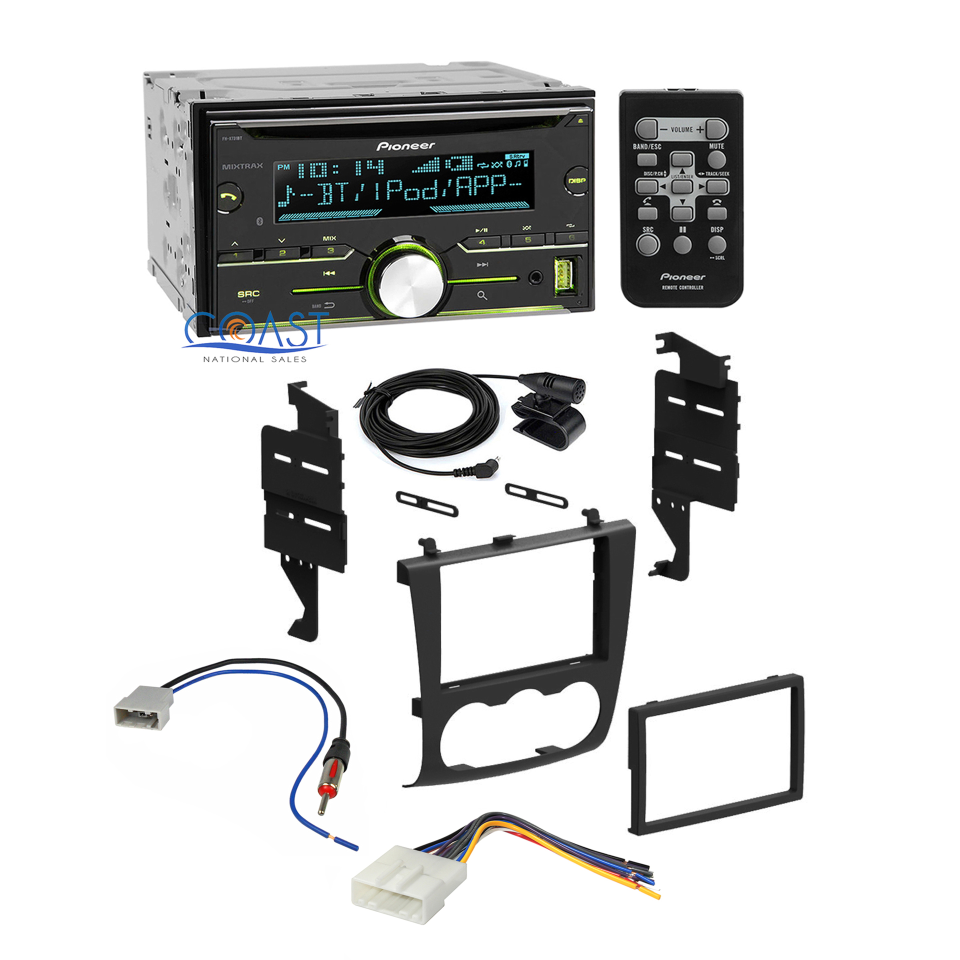 details about pioneer car radio stereo dash kit wiring harness for 2007 2011 nissan altima  i have a 2007 nissan altima with a back