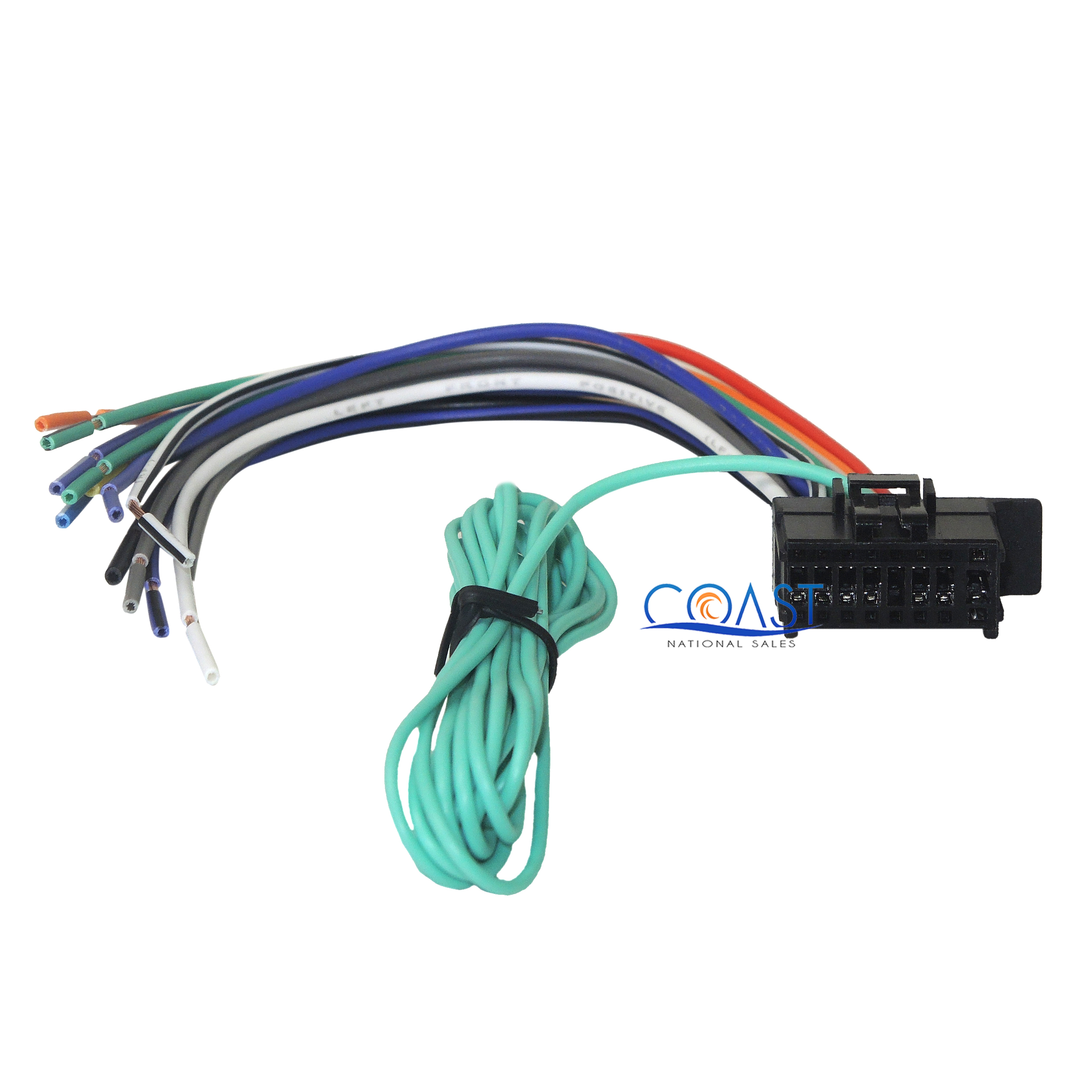 Metra 70-1783 Smart Car 2008 Up Aftermarket Radio Wiring Harness 16 Pin New