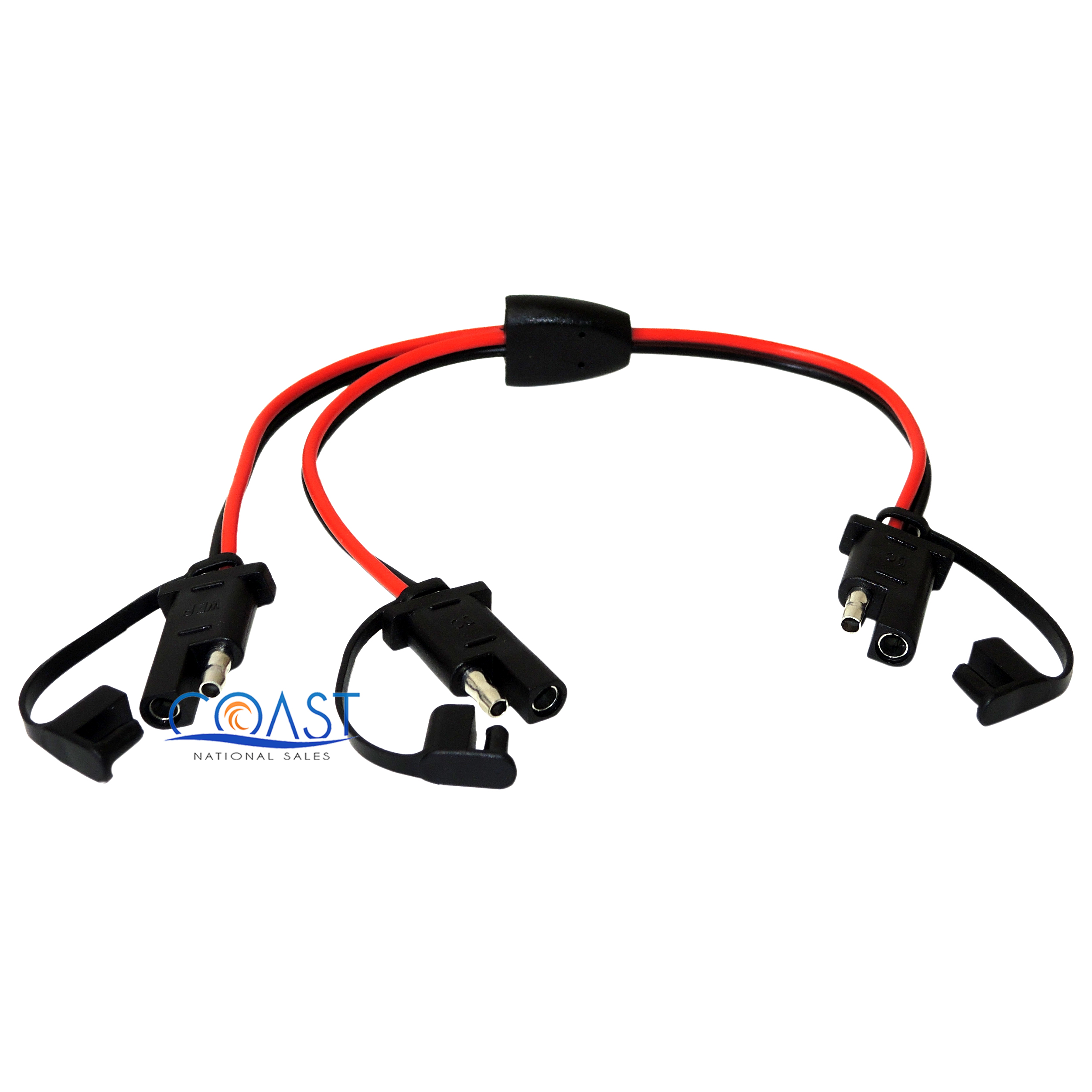 14 Gauge 12 Quick Disconnect Power Cable 2 Pin Audio Wire Harness Cable