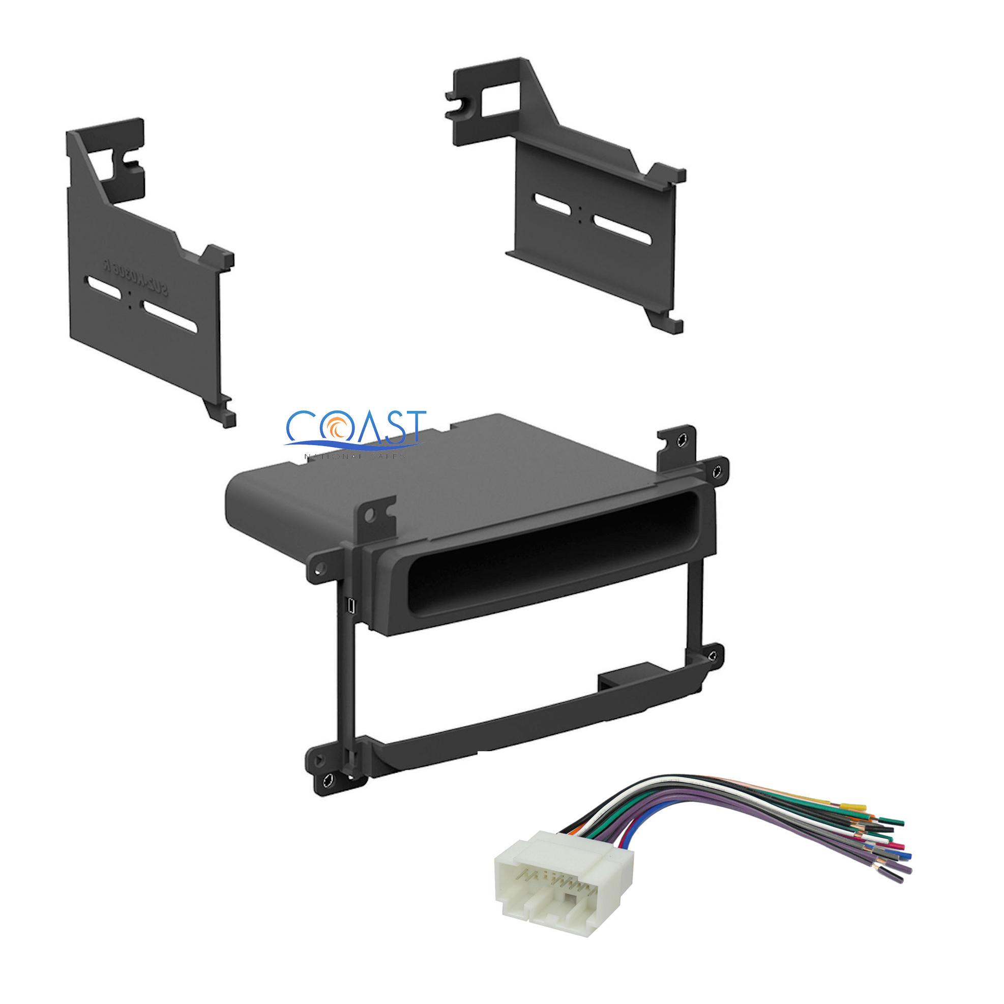 Replacement for Radio Wiring Harness for 2005 Suzuki Aerio SX Wagon 5-Door 2.3L Car Stereo Connector