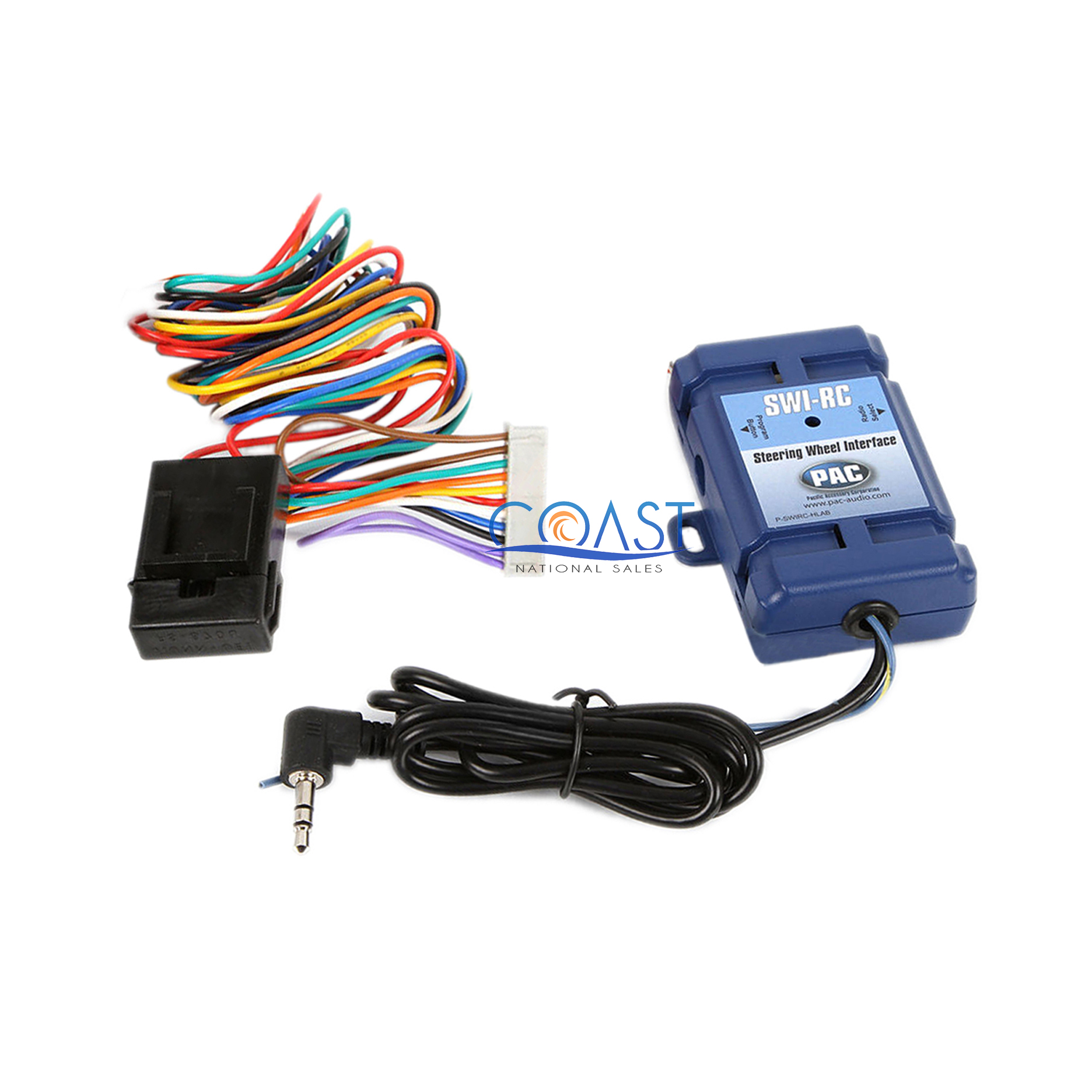 PAC SWI-RC Steering Wheel Control Interface for Radios w// Wired Remote Control
