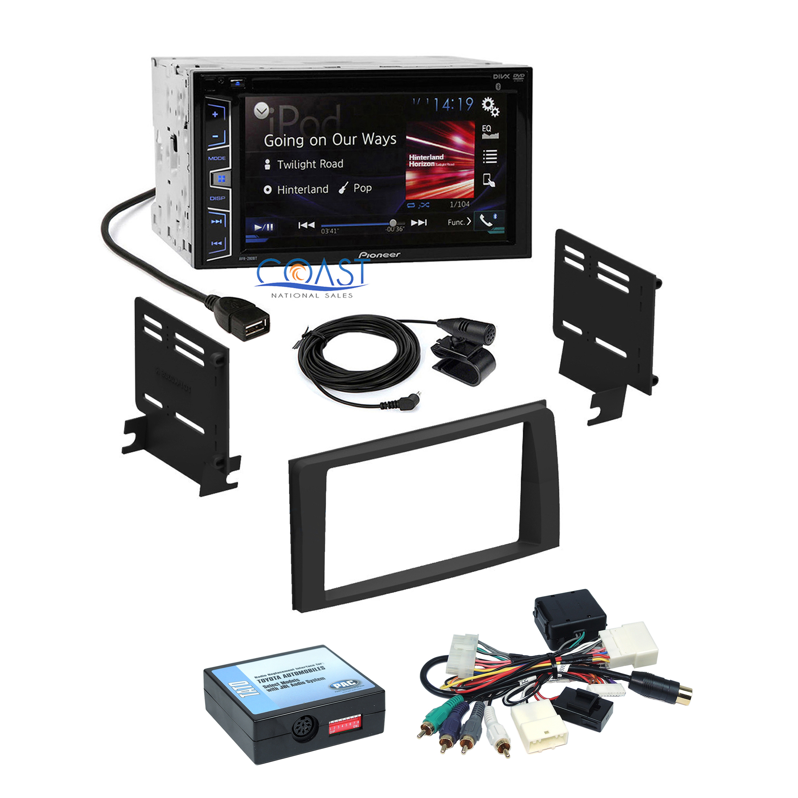Pioneer Auh 190 Dvd Wiring Diagram 34 Images Avh P6400cd Toy K0309dd Tato 290bt 190dvd Wire 291bt