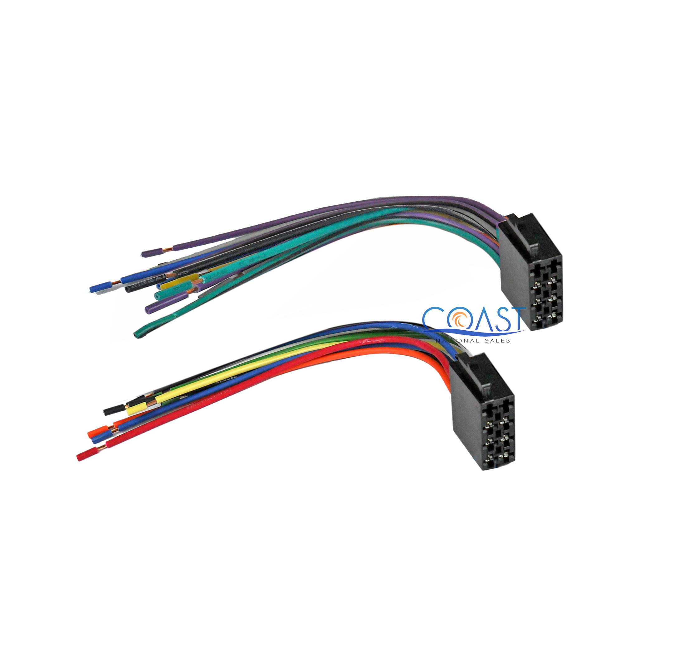 Car Stereo Wiring Harness To Factory Radio For Select 1987
