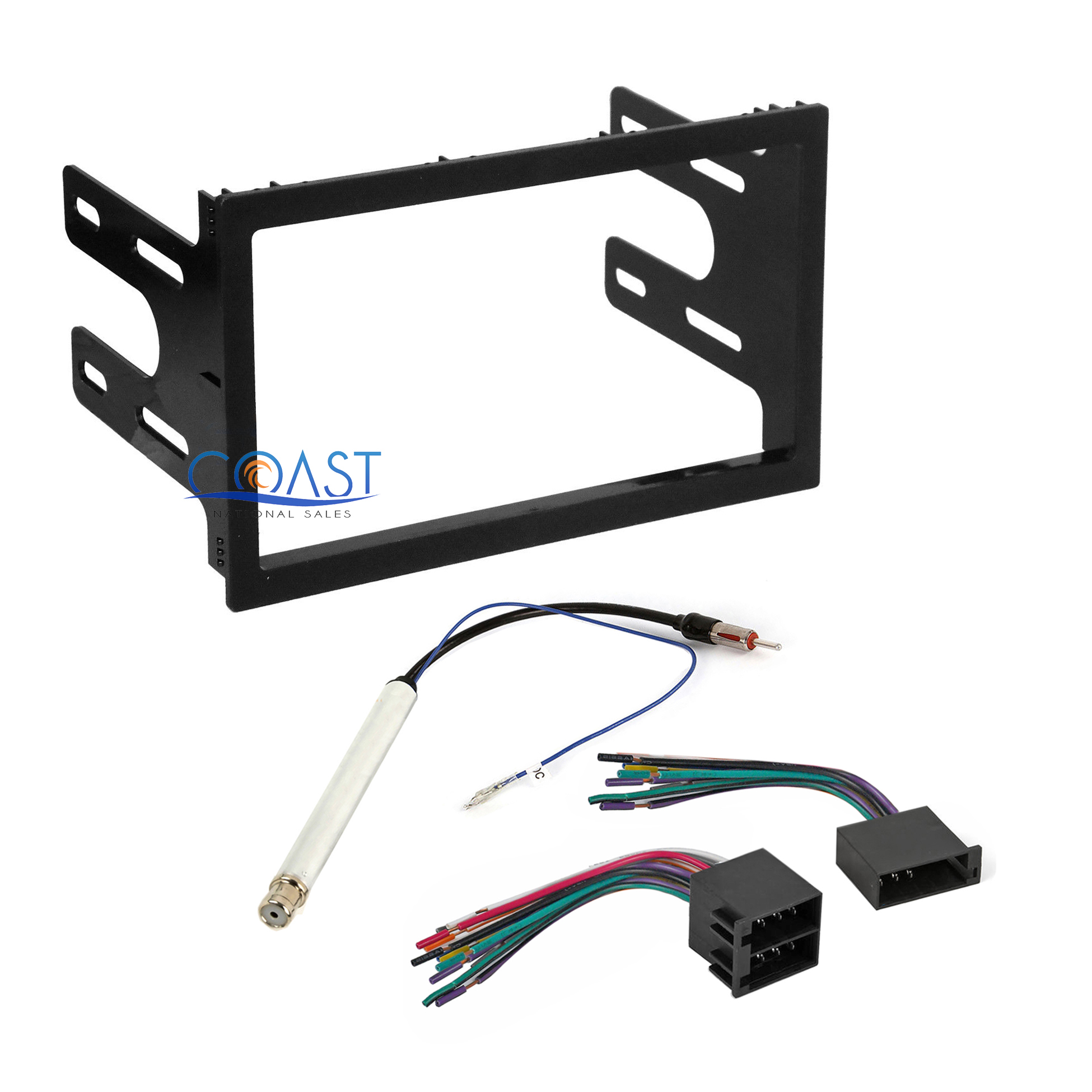 car radio stereo dash kit wire harness antenna for 1998 02. Black Bedroom Furniture Sets. Home Design Ideas
