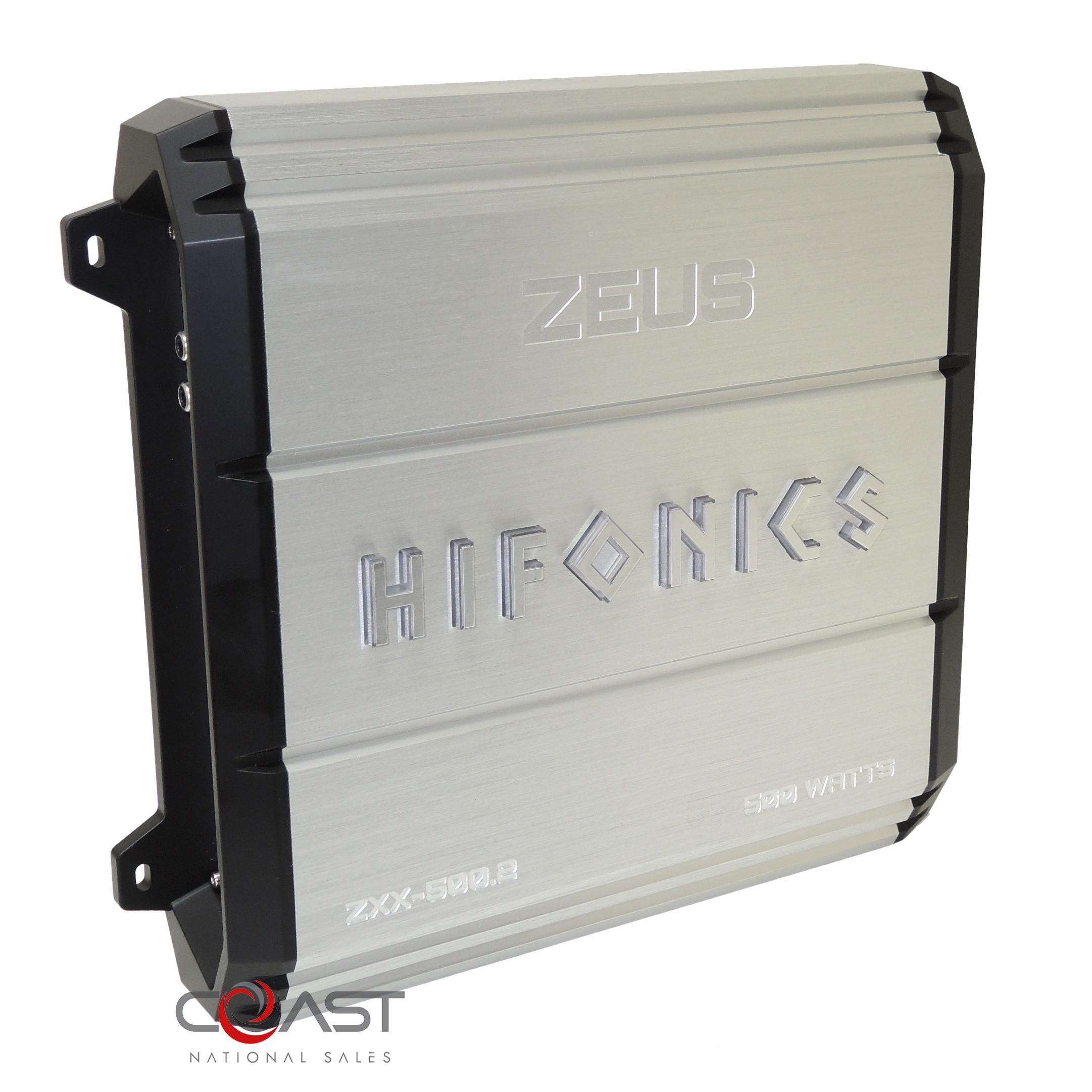Hifonics Zxx-500.2 Zeus Series 500-watt 2-channel Class Ab Amp